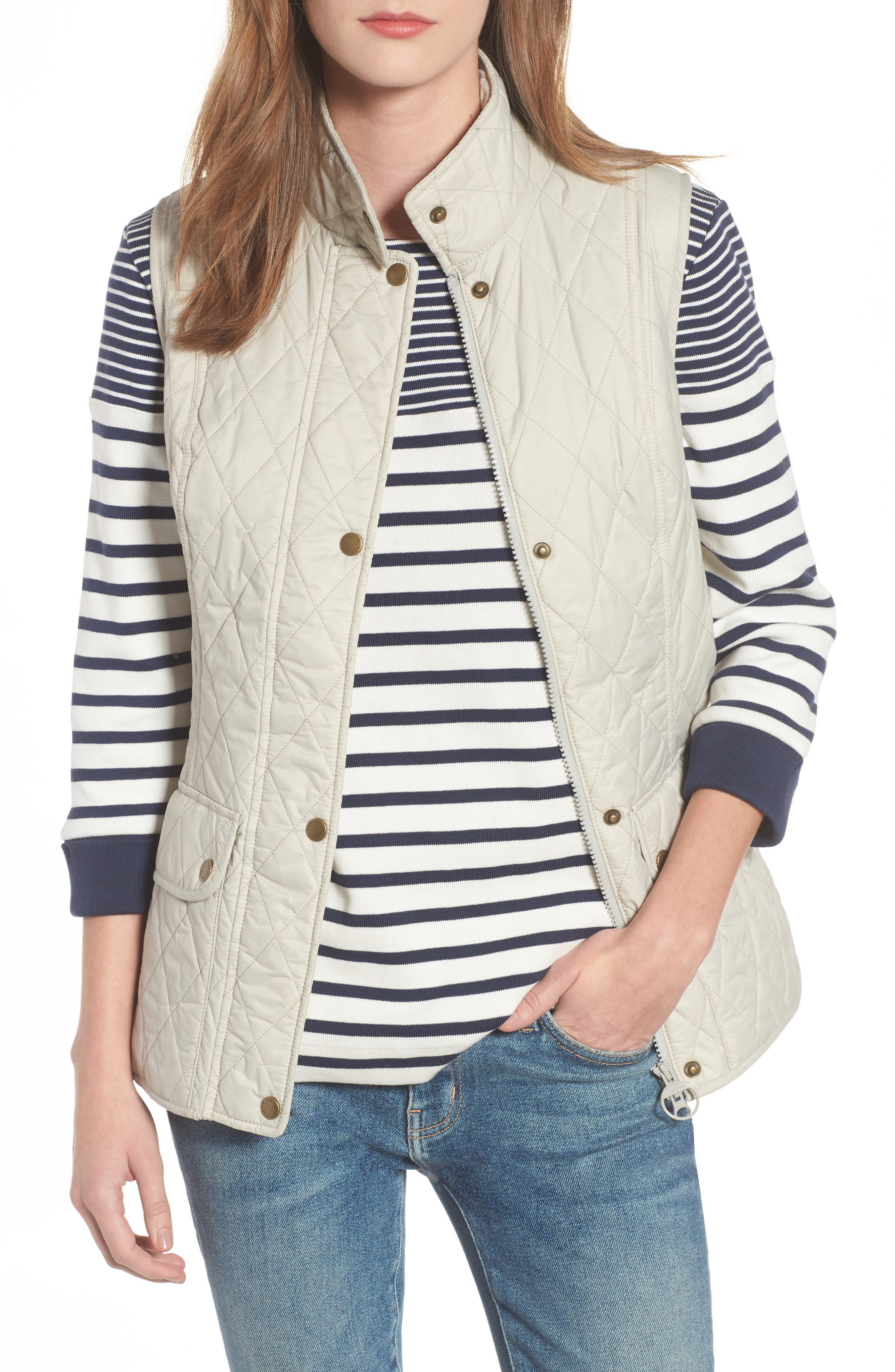 Otterburn Water Resistant Quilted Gilet,                         Main,                         color, Mist