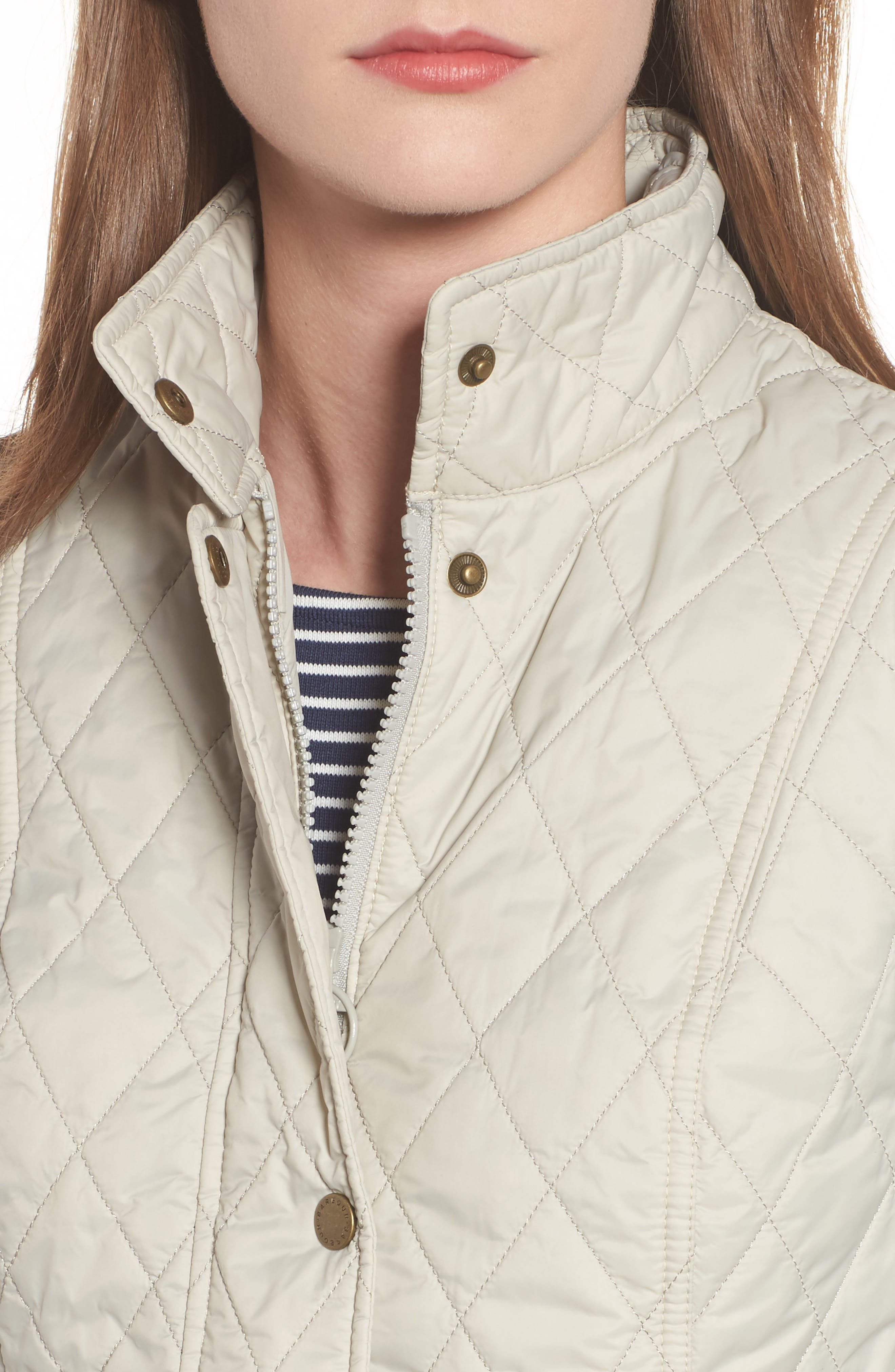 Otterburn Water Resistant Quilted Gilet,                             Alternate thumbnail 4, color,                             Mist