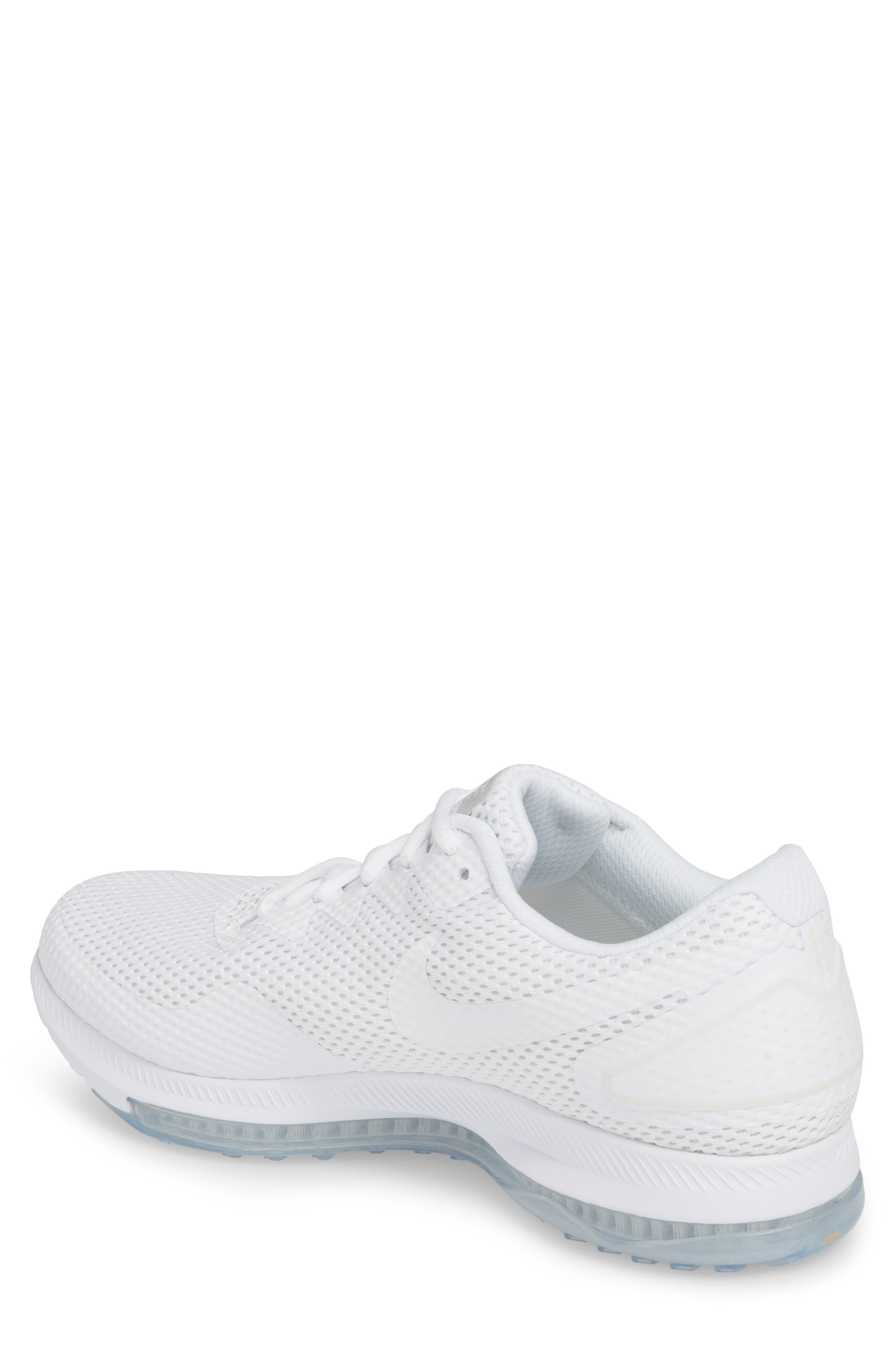 Zoom All Out Low 2 Running Shoe,                             Alternate thumbnail 2, color,                             White/ White/ Off White