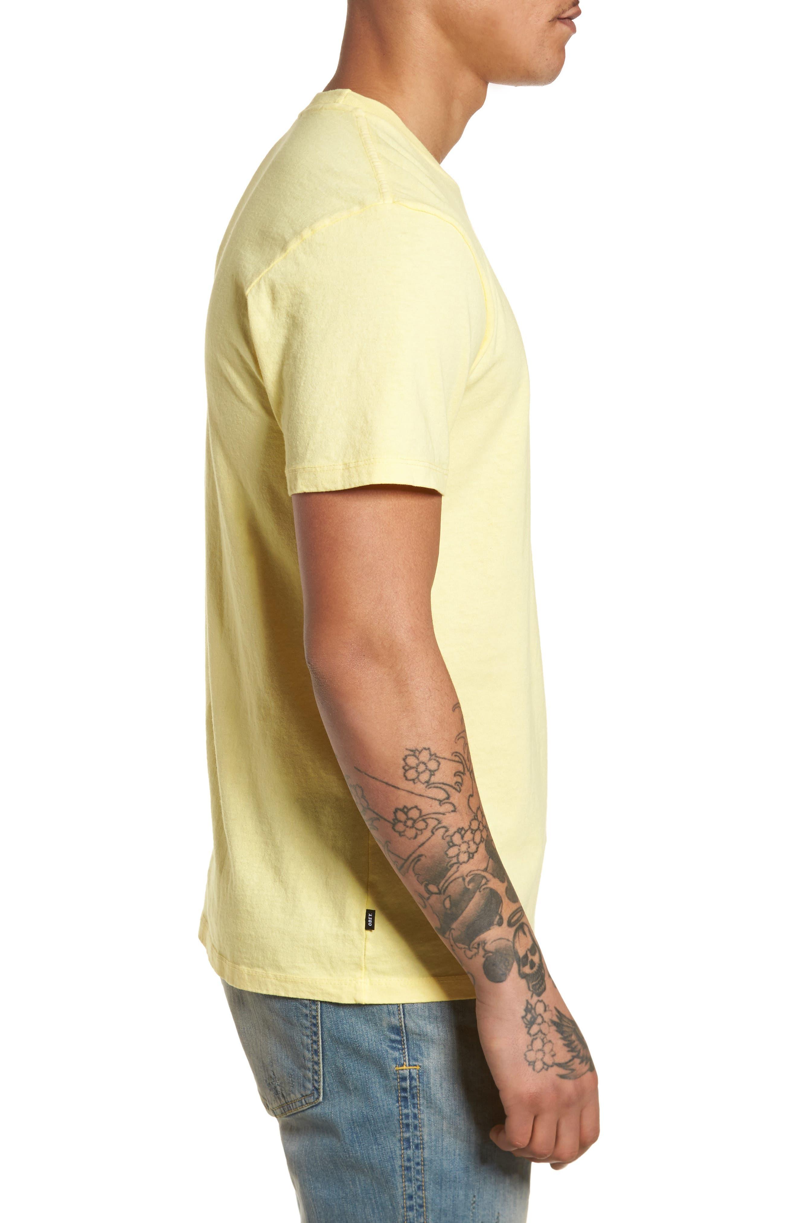 Logo Graphic T-Shirt,                             Alternate thumbnail 4, color,                             Dusty Lemon