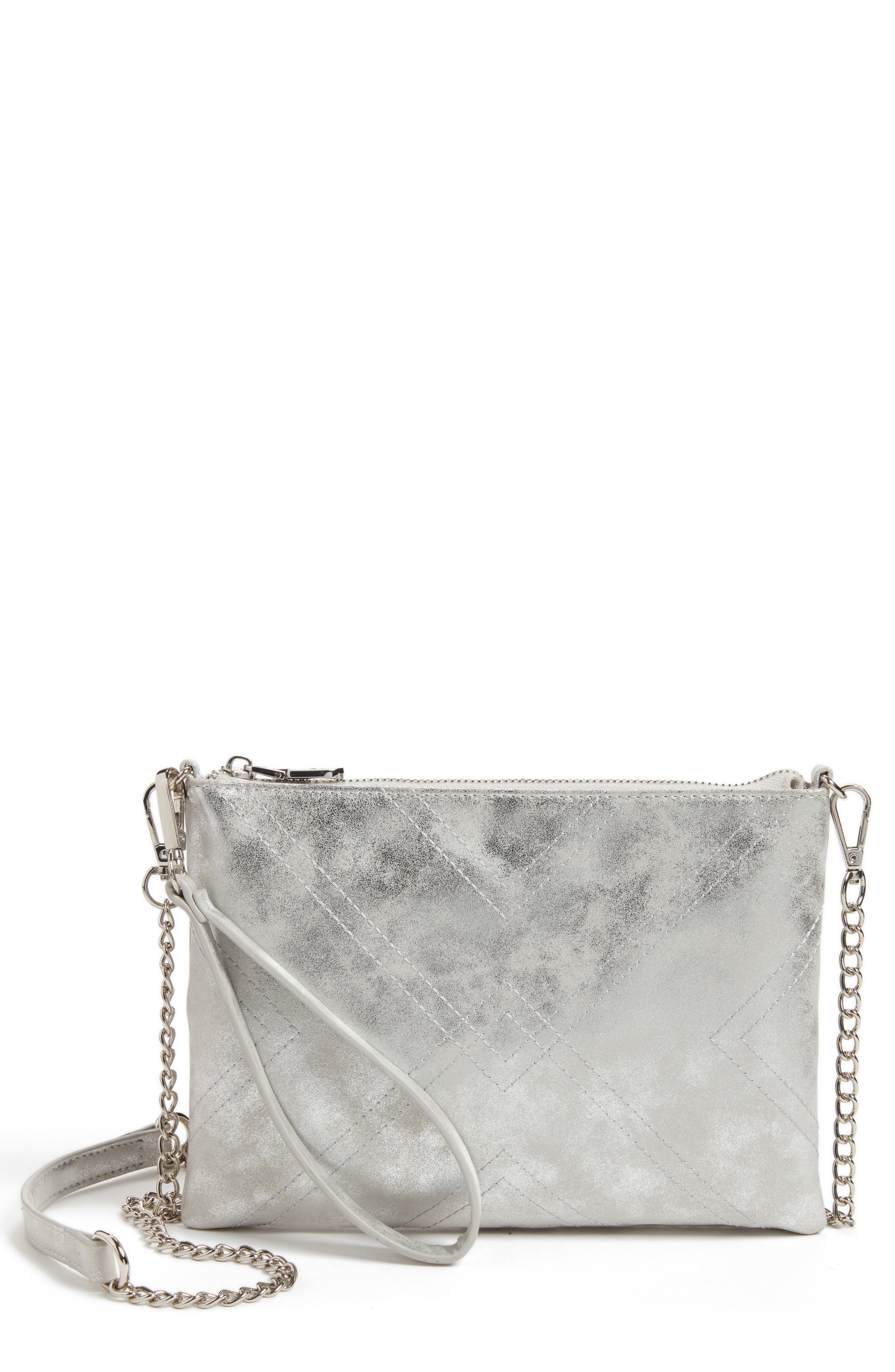 Chelsea28 Astley Faux Leather Clutch
