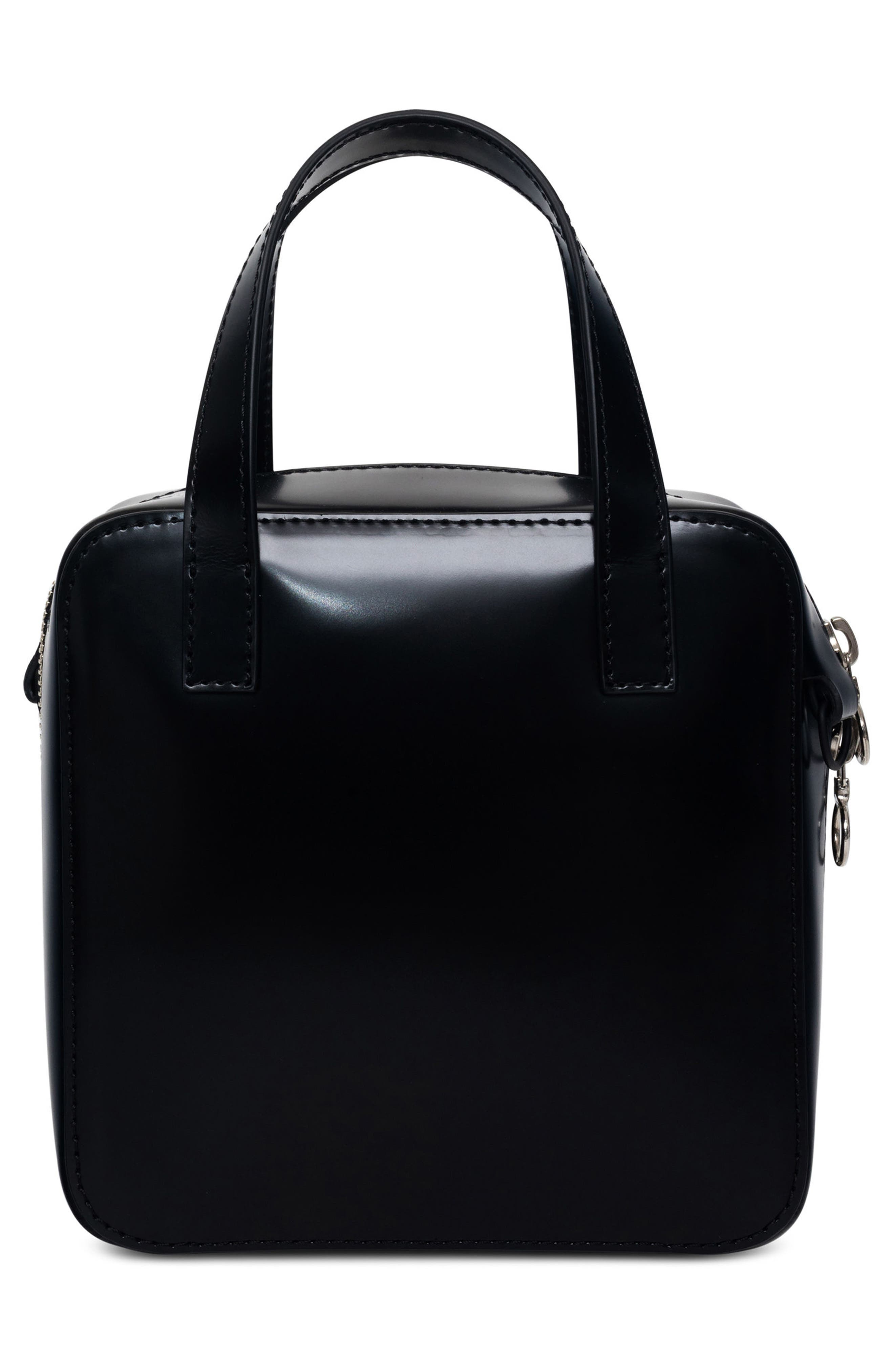 Small Brick Bag,                             Alternate thumbnail 3, color,                             Void Black