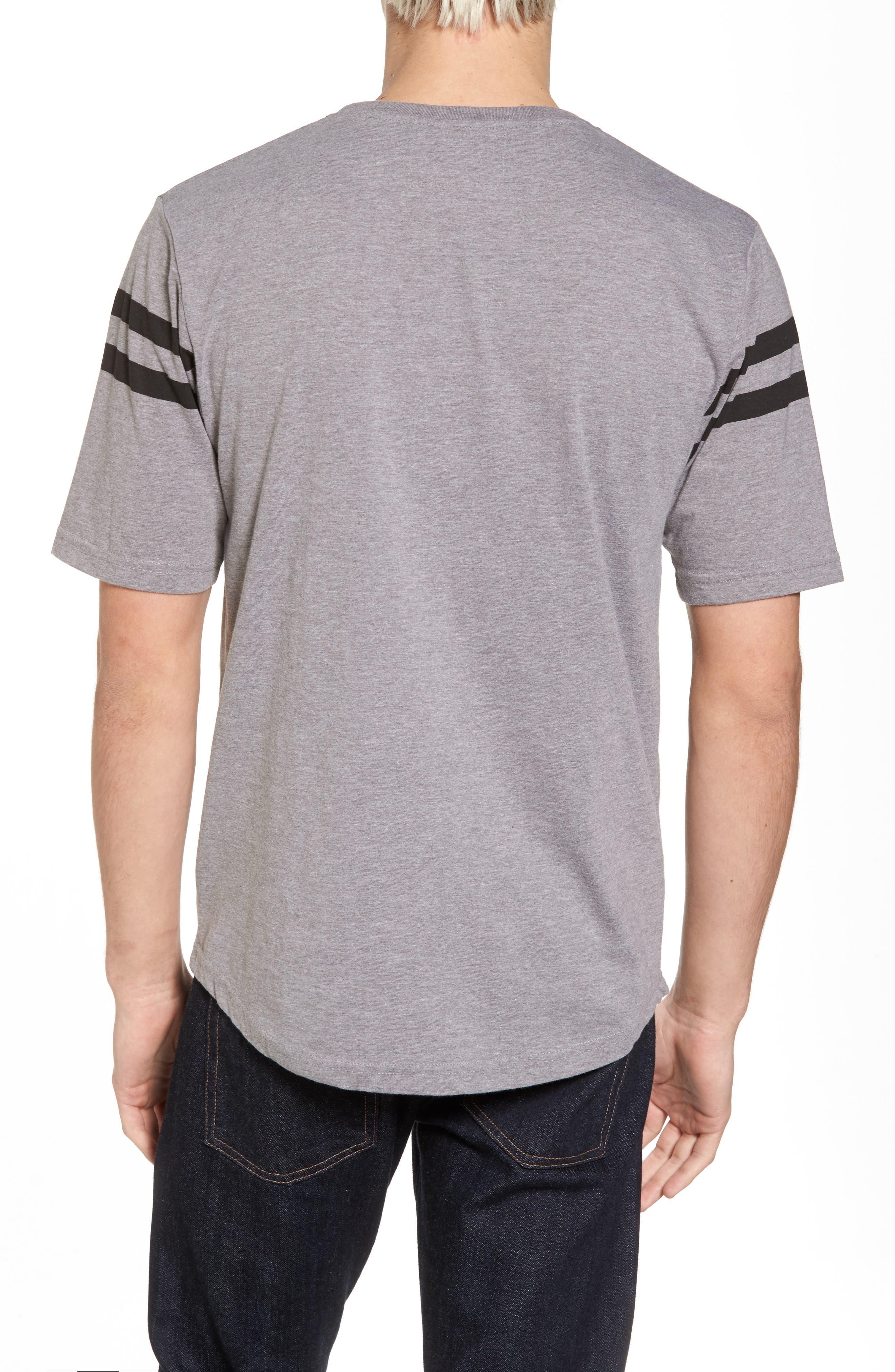 Crosby Boston Bruins T-Shirt,                             Alternate thumbnail 2, color,                             Heather Grey