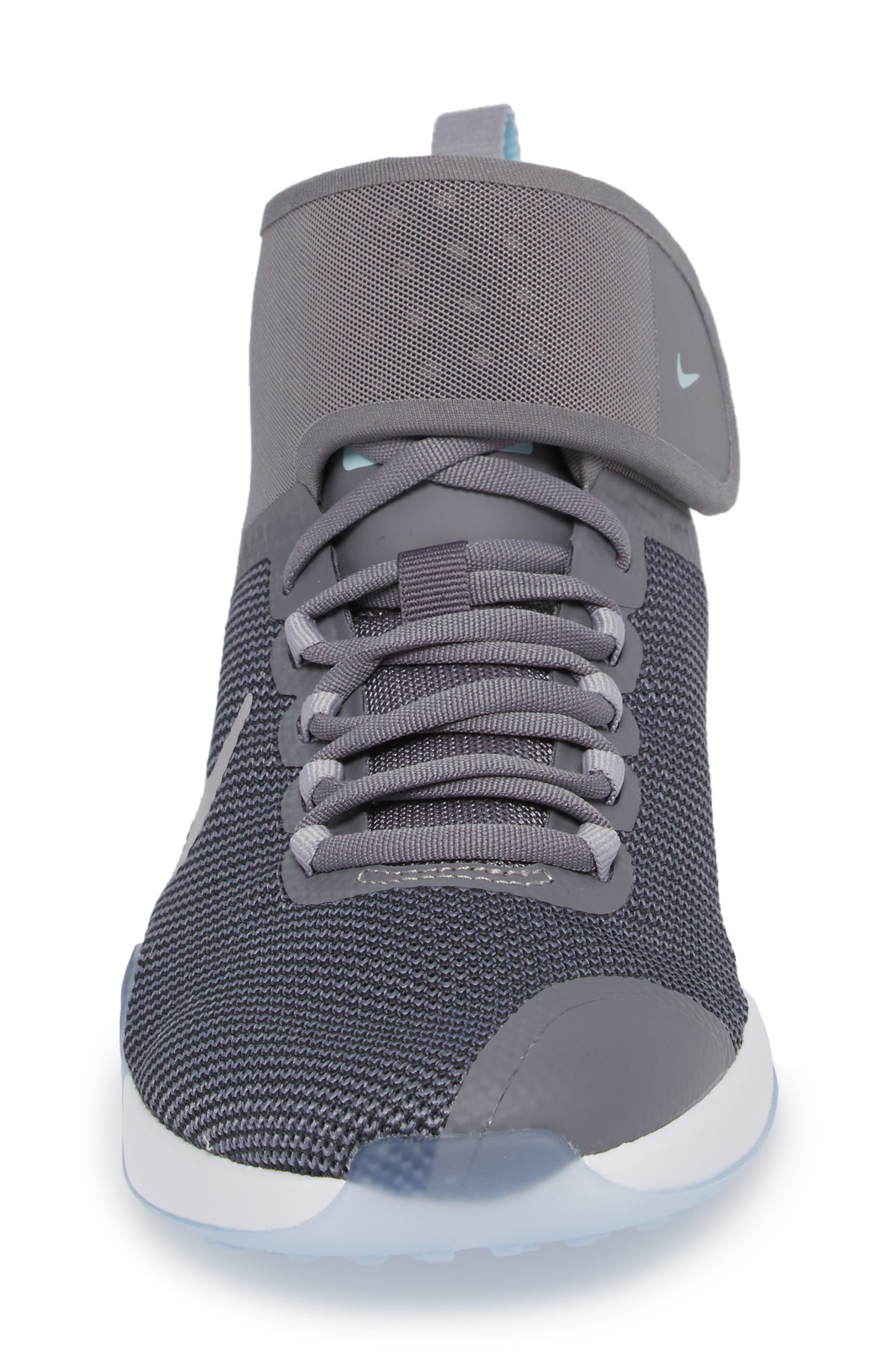 NikeLab Air Zoom Strong 2 Training Shoe,                             Alternate thumbnail 4, color,                             Smoke/ Atmosphere Grey