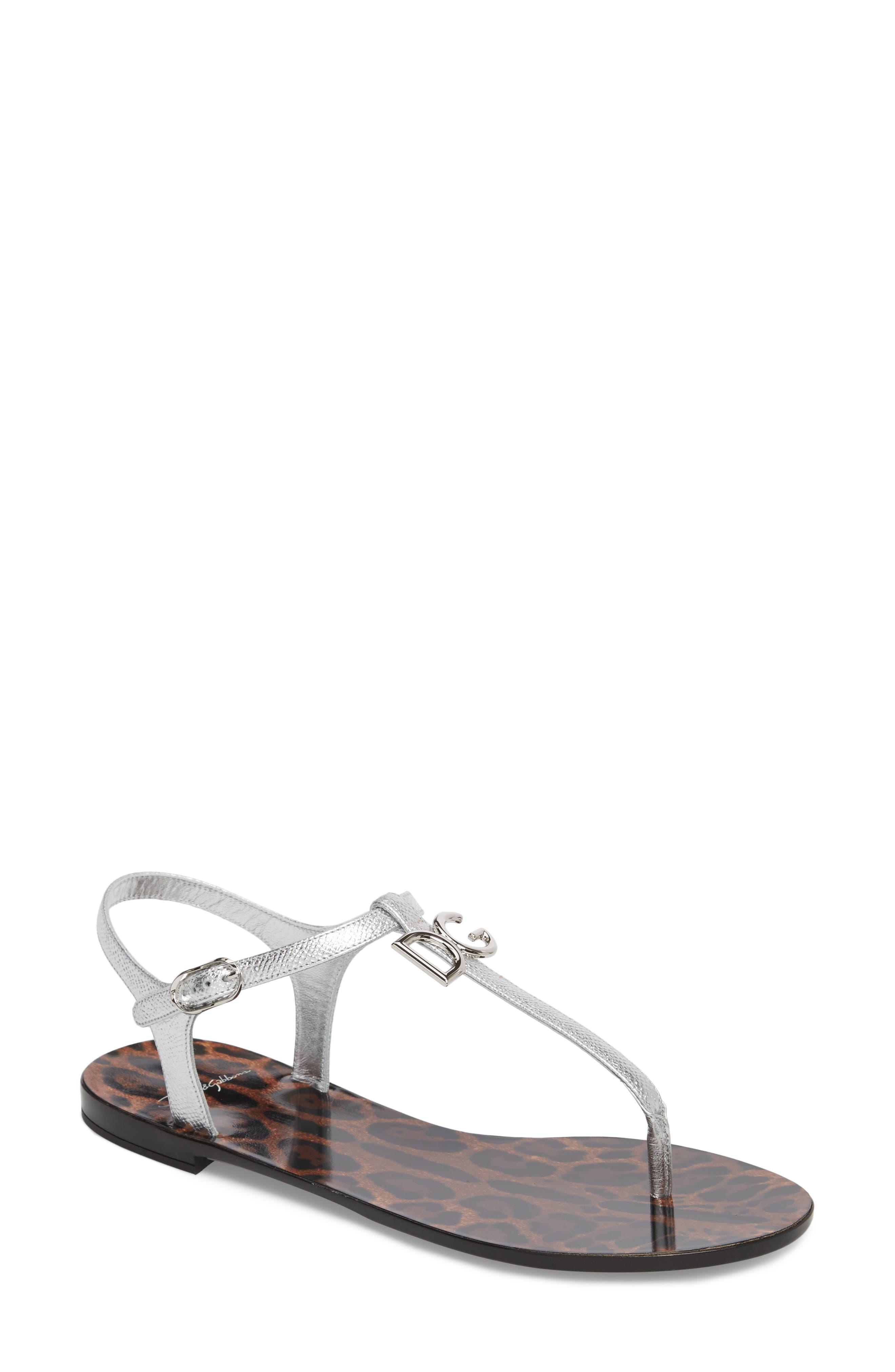 Dolce&Gabbana Dauphine Logo Sandal (Women)