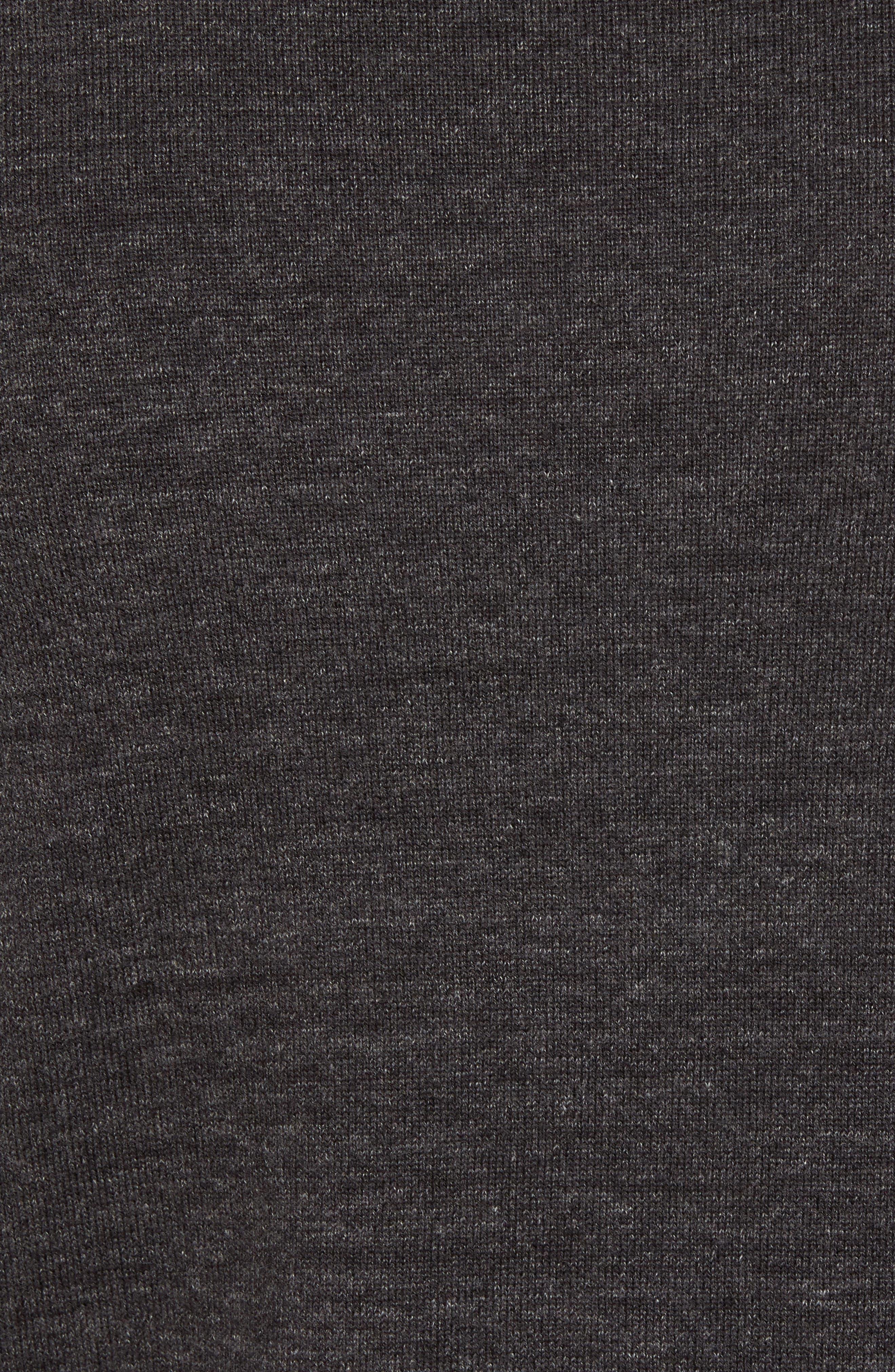 Devino Cotton Zip Jacket,                             Alternate thumbnail 5, color,                             Grey
