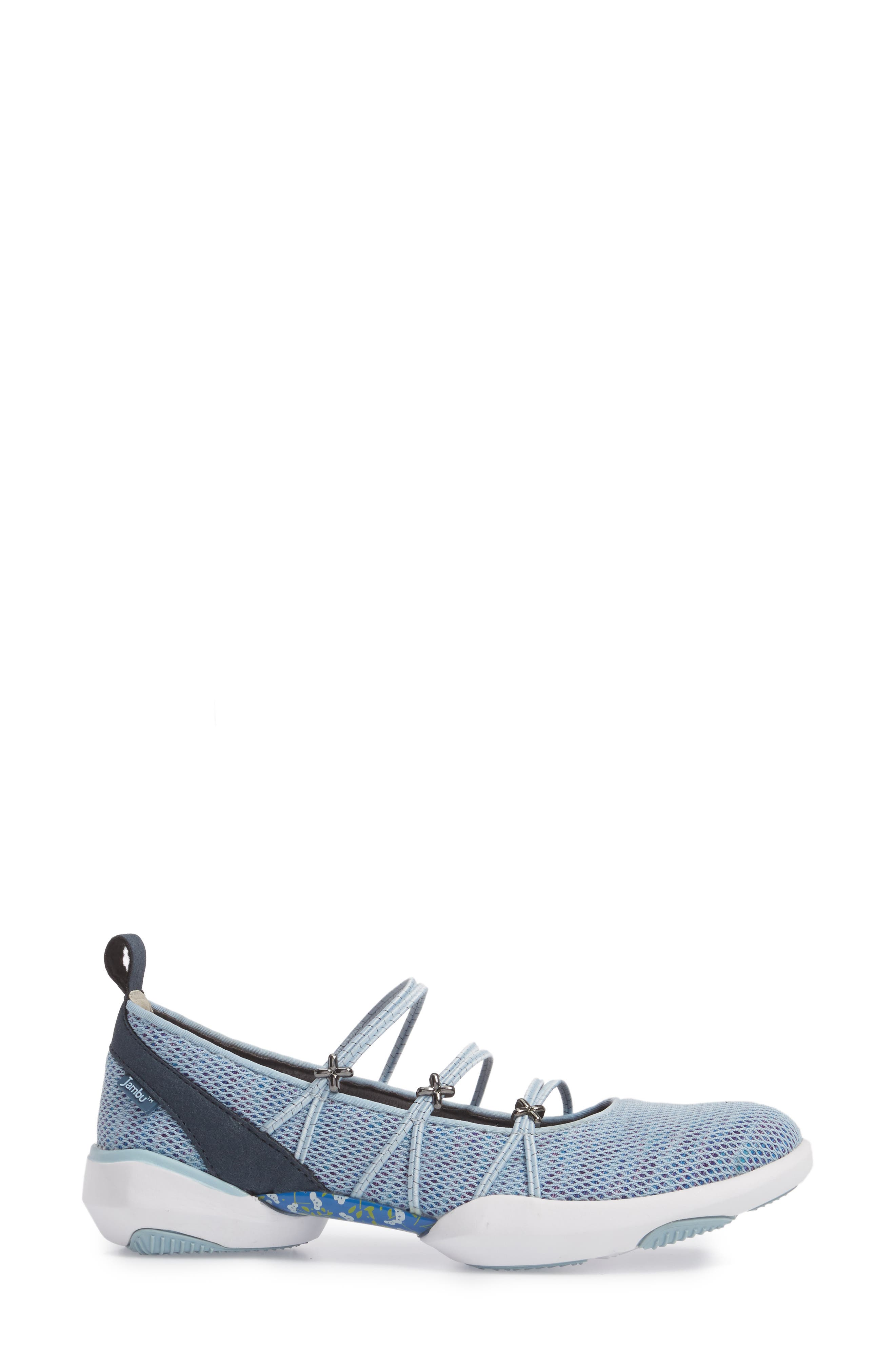 Cheyenne Water Ready Slip-on,                             Alternate thumbnail 3, color,                             Powder Blue