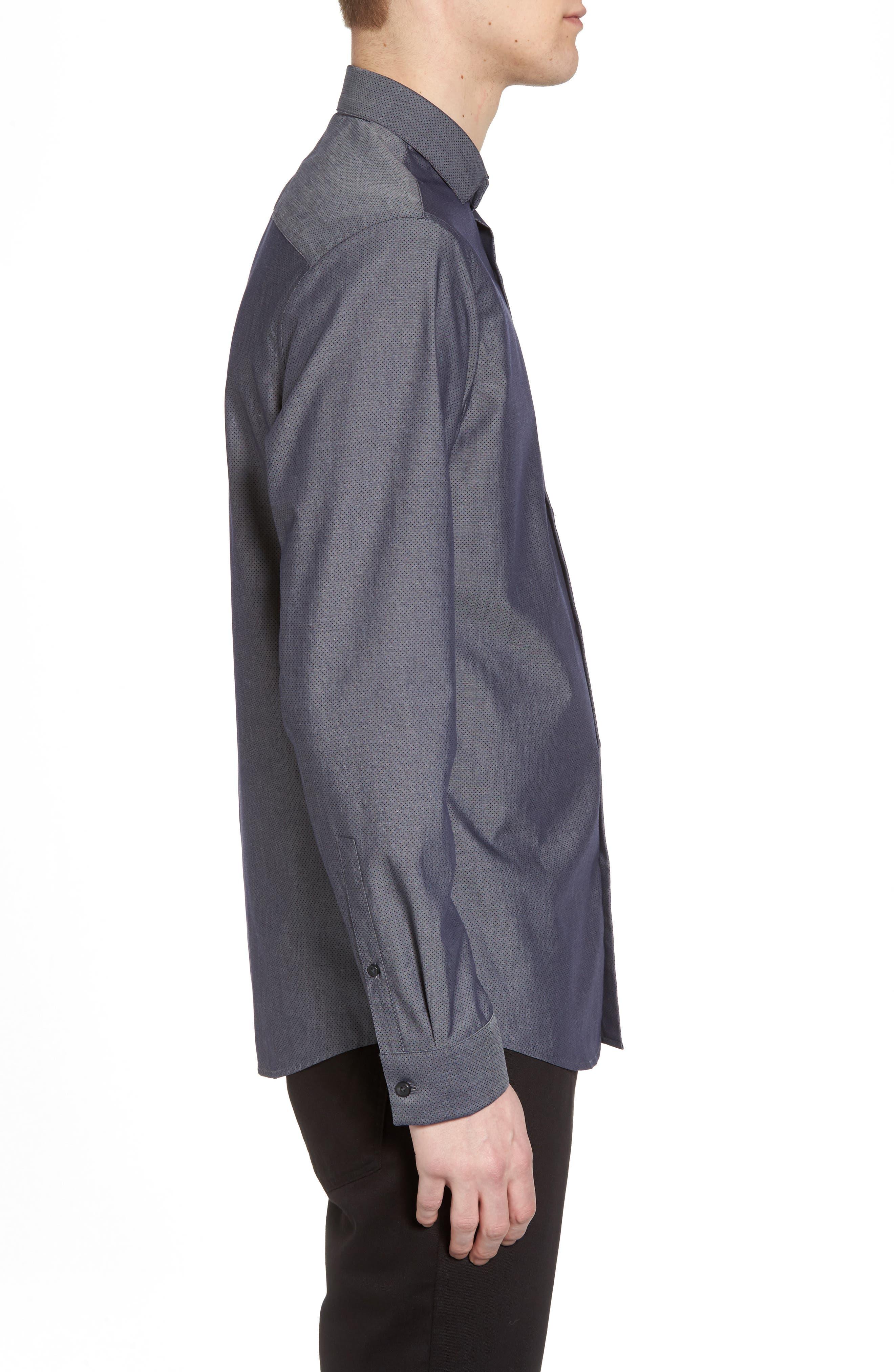 Alternate Image 4  - Calibrate Slim Fit Solid Sport Shirt