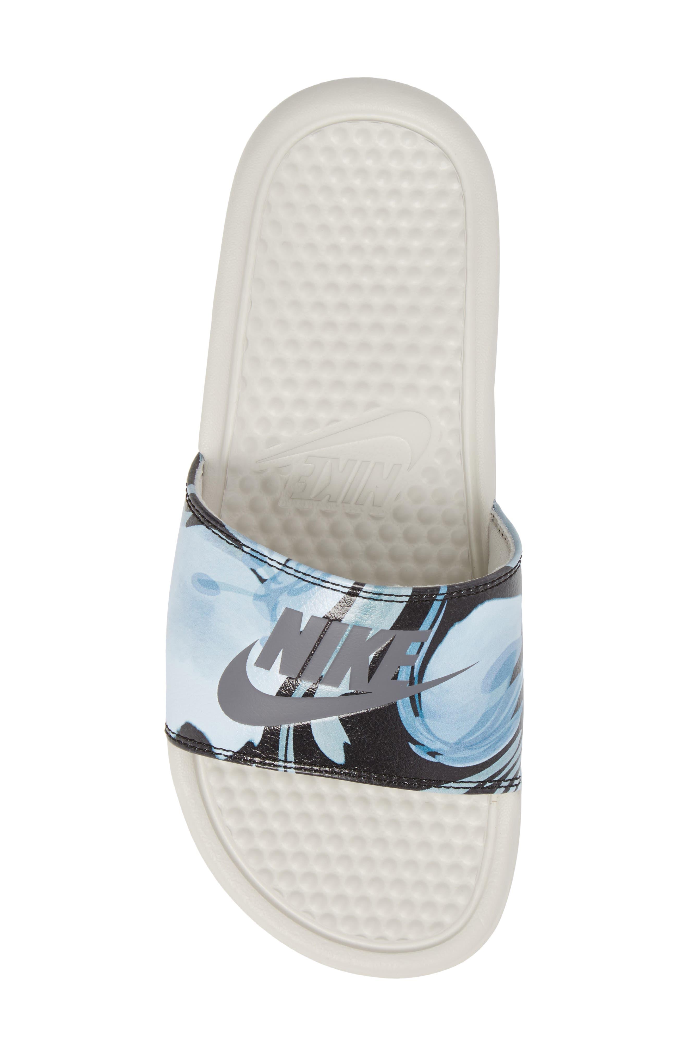 Alternate Image 5  - Nike 'Benassi - Just Do It' Print Sandal (Women)