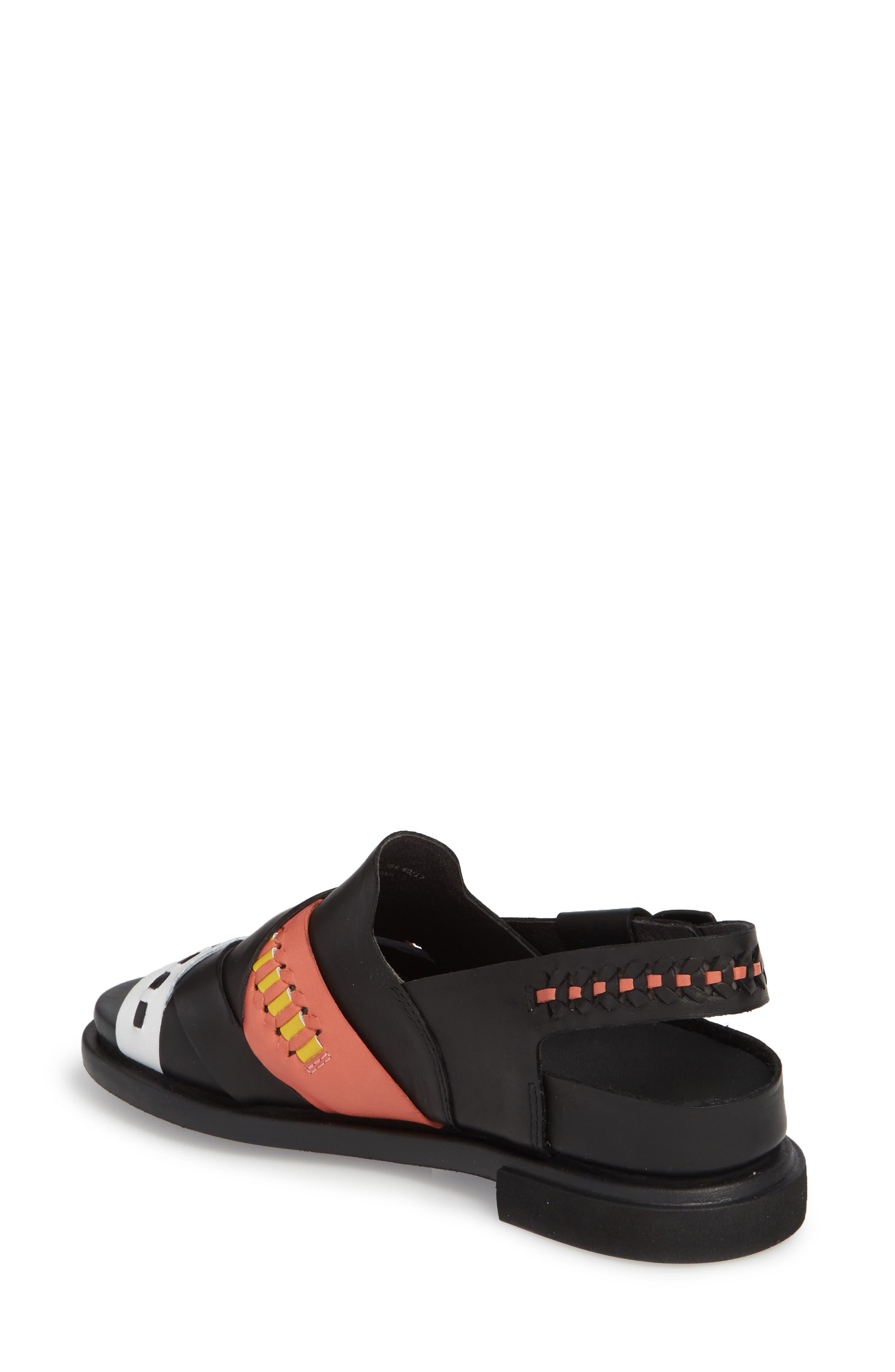 Twins Slingback Sandal,                             Alternate thumbnail 3, color,                             Multi - Assorted Leather