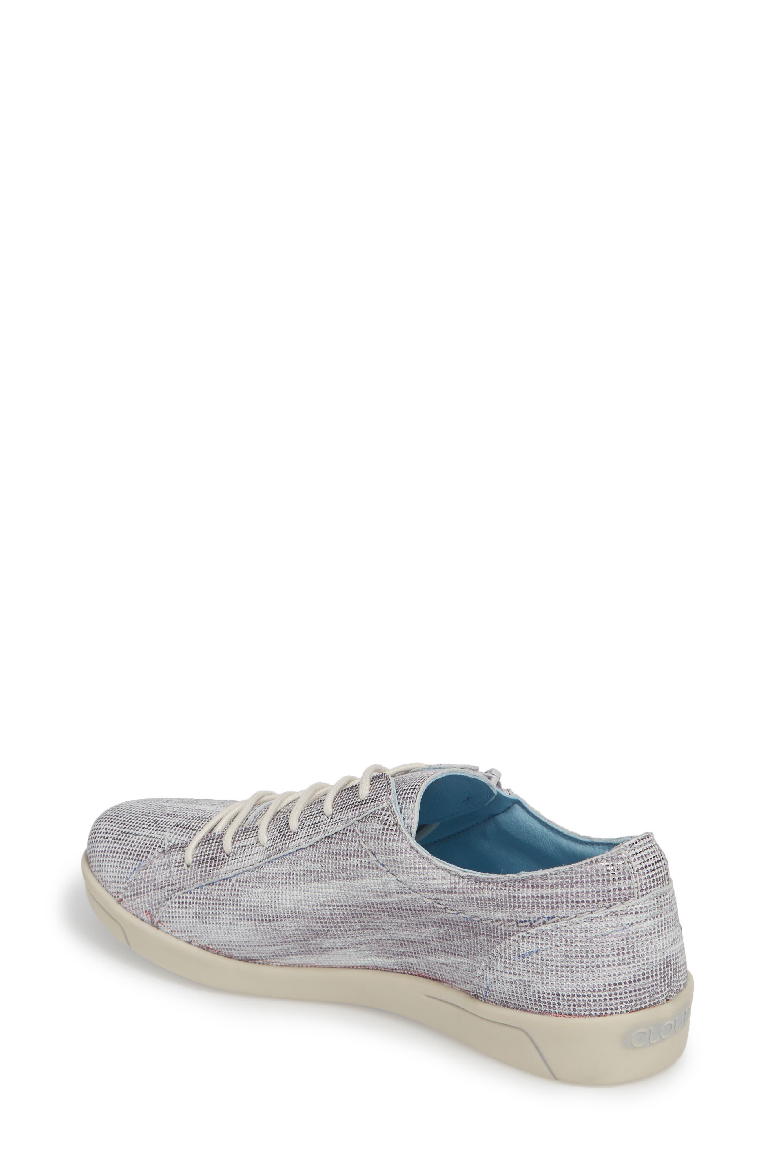 Aika Dunkan Sneaker,                             Alternate thumbnail 2, color,                             Grey Leather