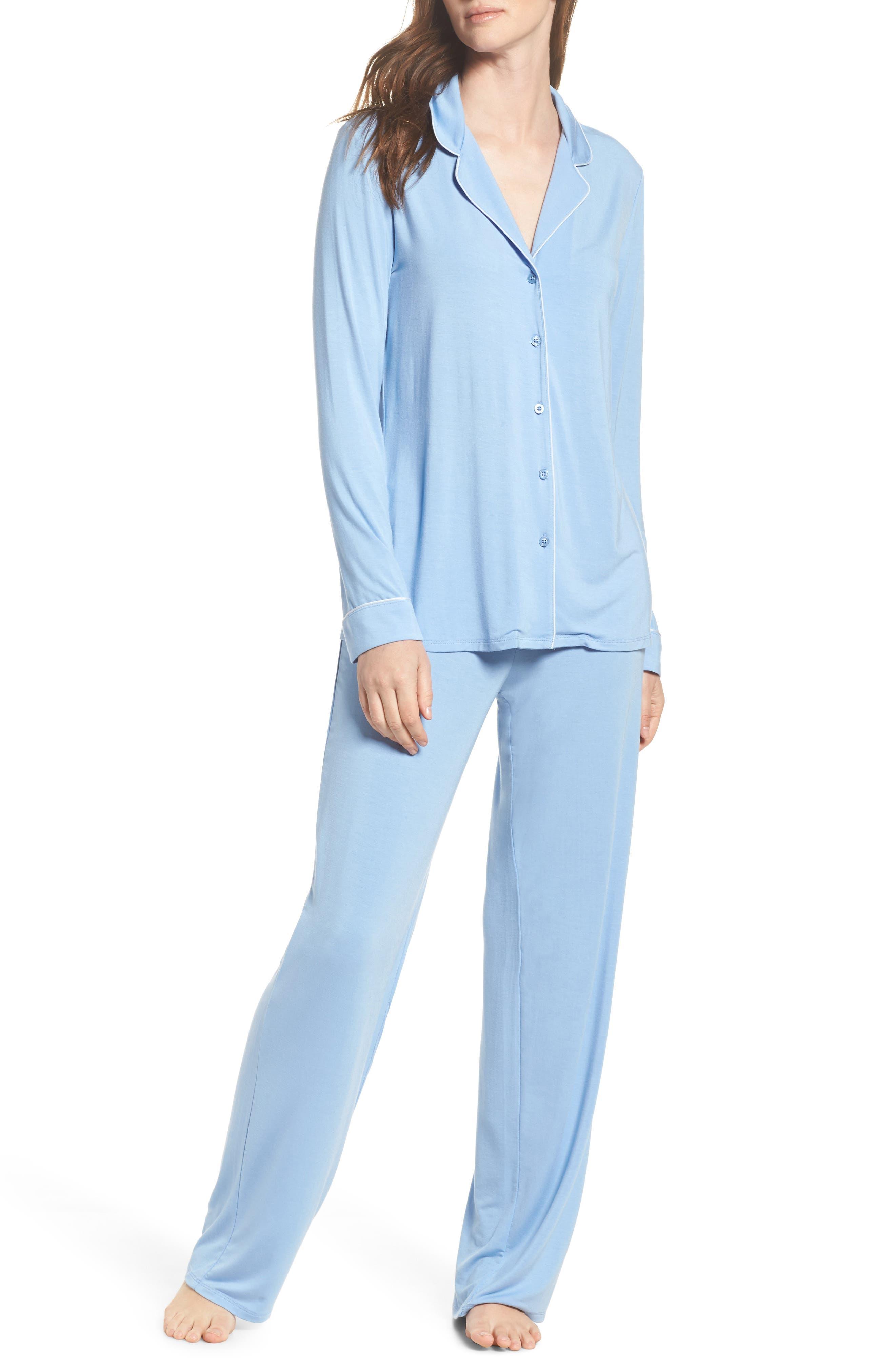 Alternate Image 1 Selected - Nordstrom Lingerie Moonlight Pajamas