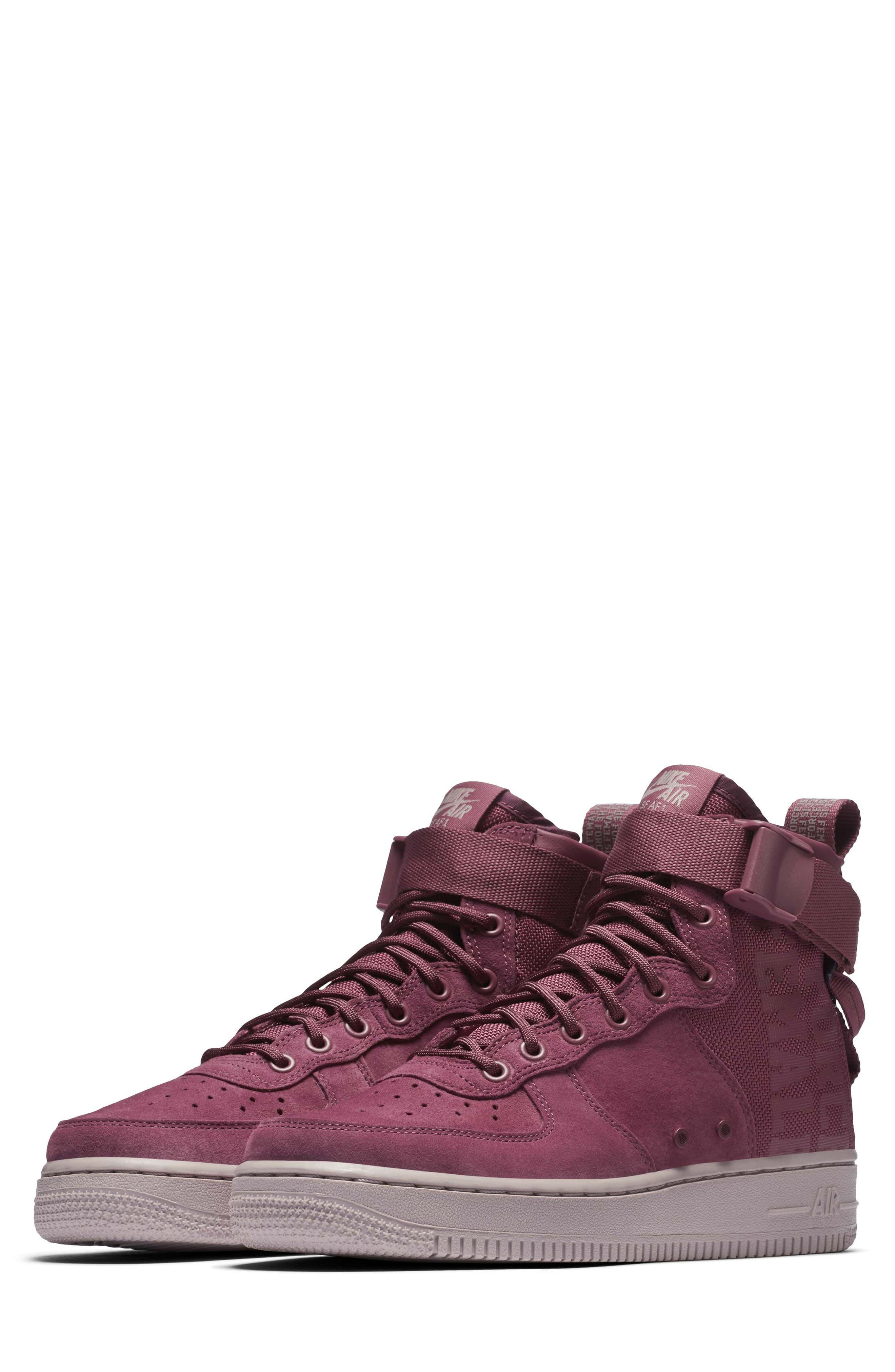 Nike SF Air Force 1 Force Is Female Mid Sneaker (Women)