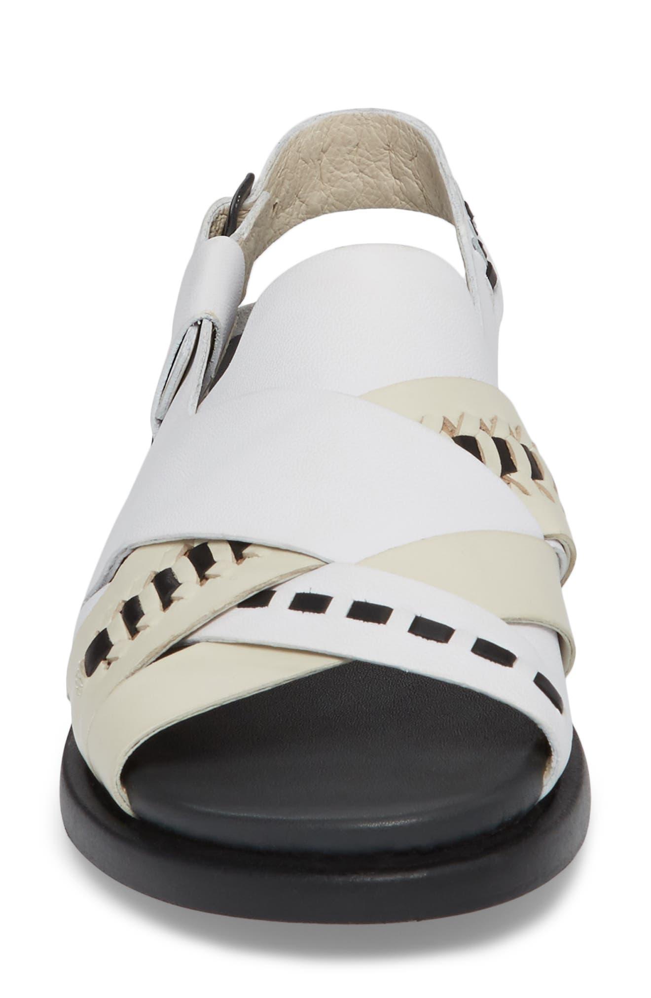 Twins Slingback Sandal,                             Alternate thumbnail 8, color,                             Multi - Assorted Leather