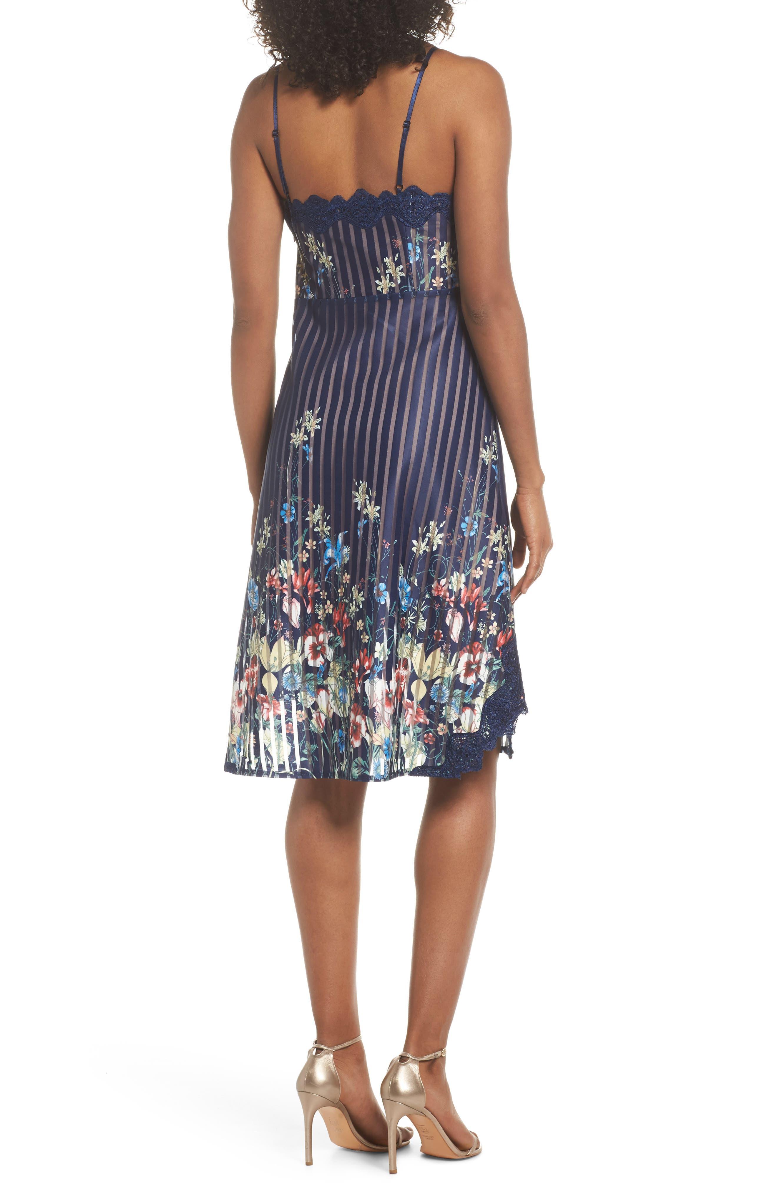 Meadow Dress,                             Alternate thumbnail 2, color,                             Navy Meadow Multi