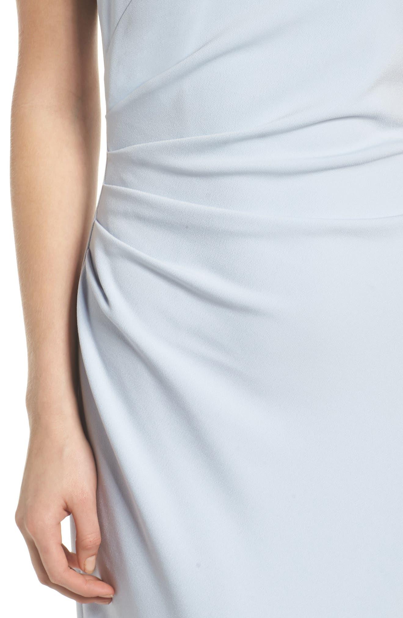 Off the Shoulder Gown,                             Alternate thumbnail 3, color,                             Light Blue