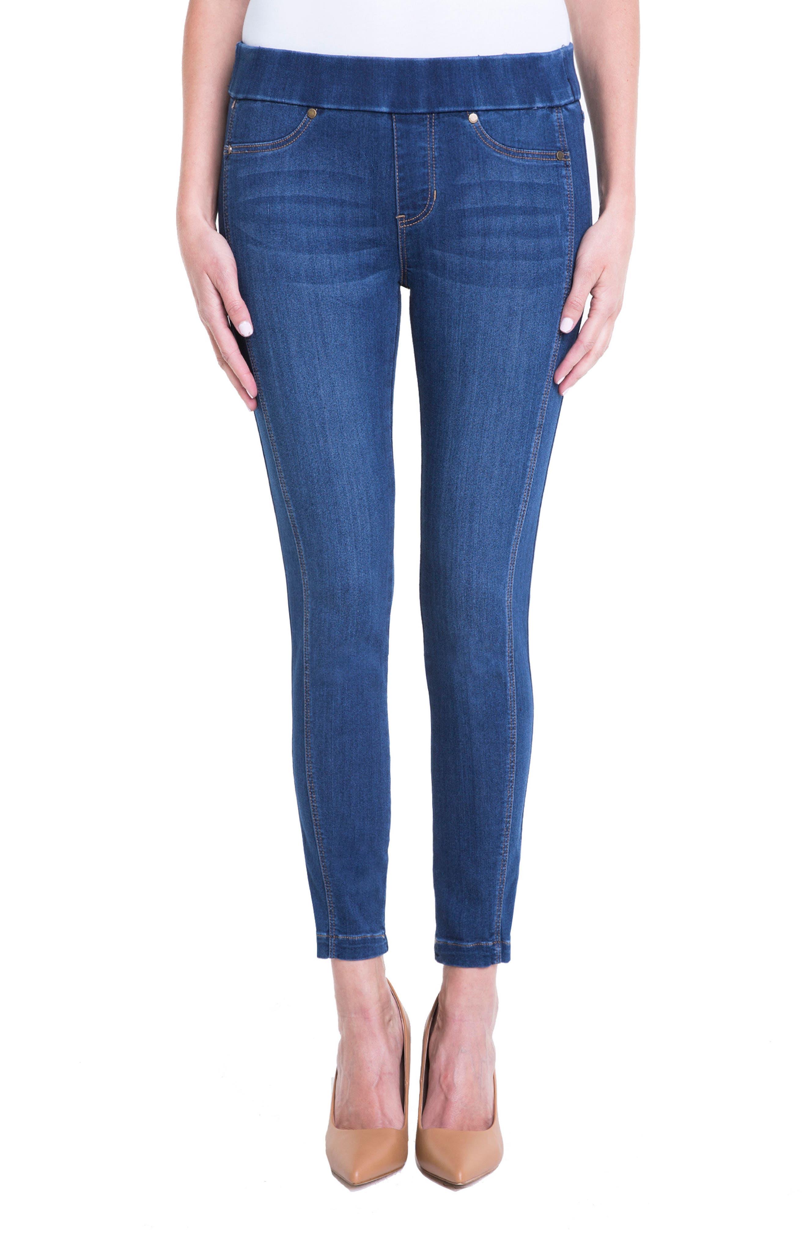 Main Image - Liverpool Jeans Company Sophia Ankle Denim Leggings (Regular & Petite)