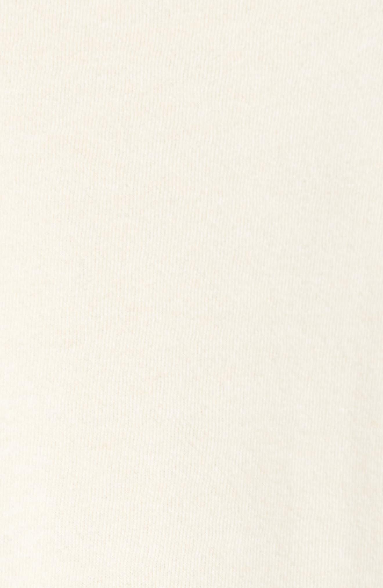 66 Classic Crew Sweatshirt,                             Alternate thumbnail 5, color,                             Vintage White Heather