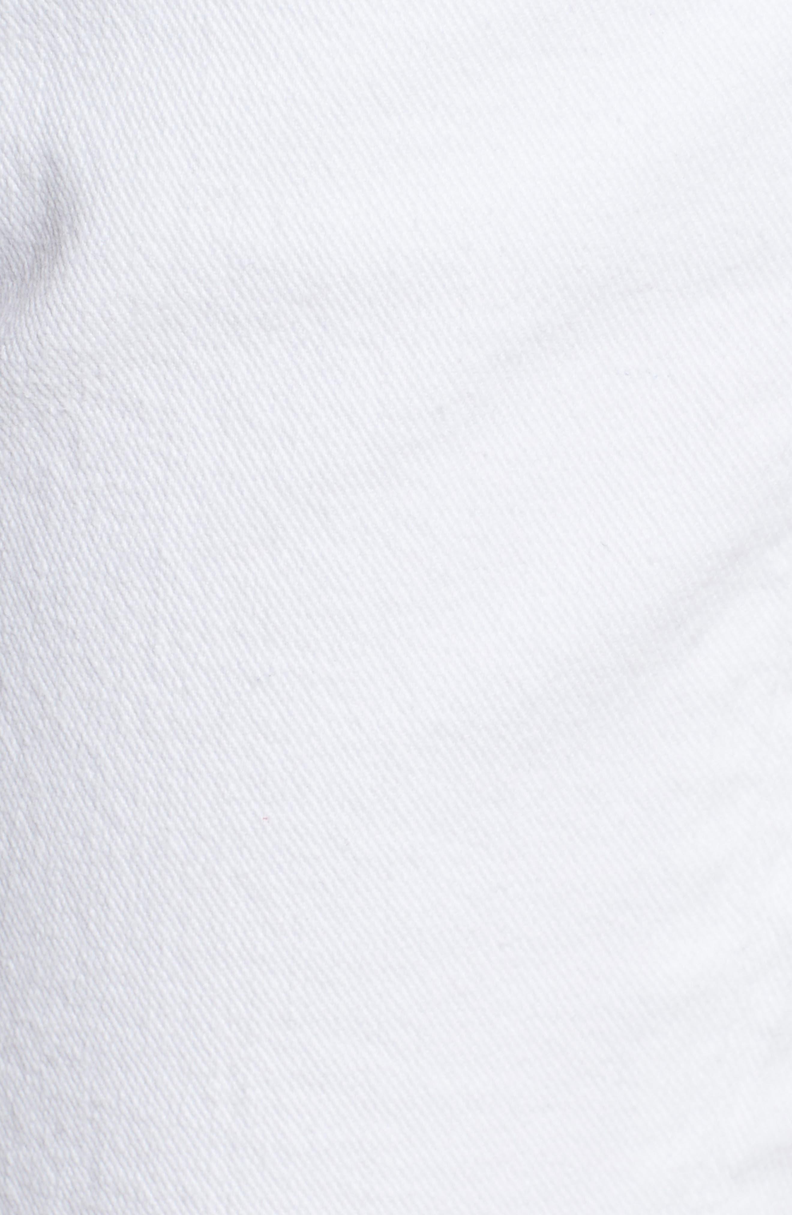 Josefina High Waist Boyfriend Jeans,                             Alternate thumbnail 6, color,                             White Fashion 2