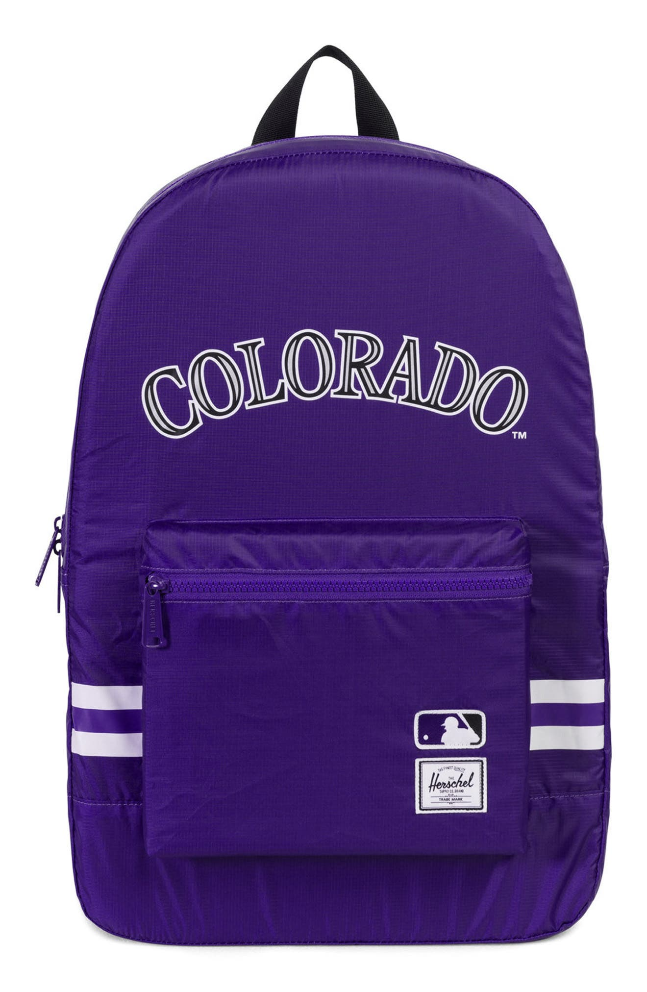 PACKABLE - MLB NATIONAL LEAGUE BACKPACK - PURPLE