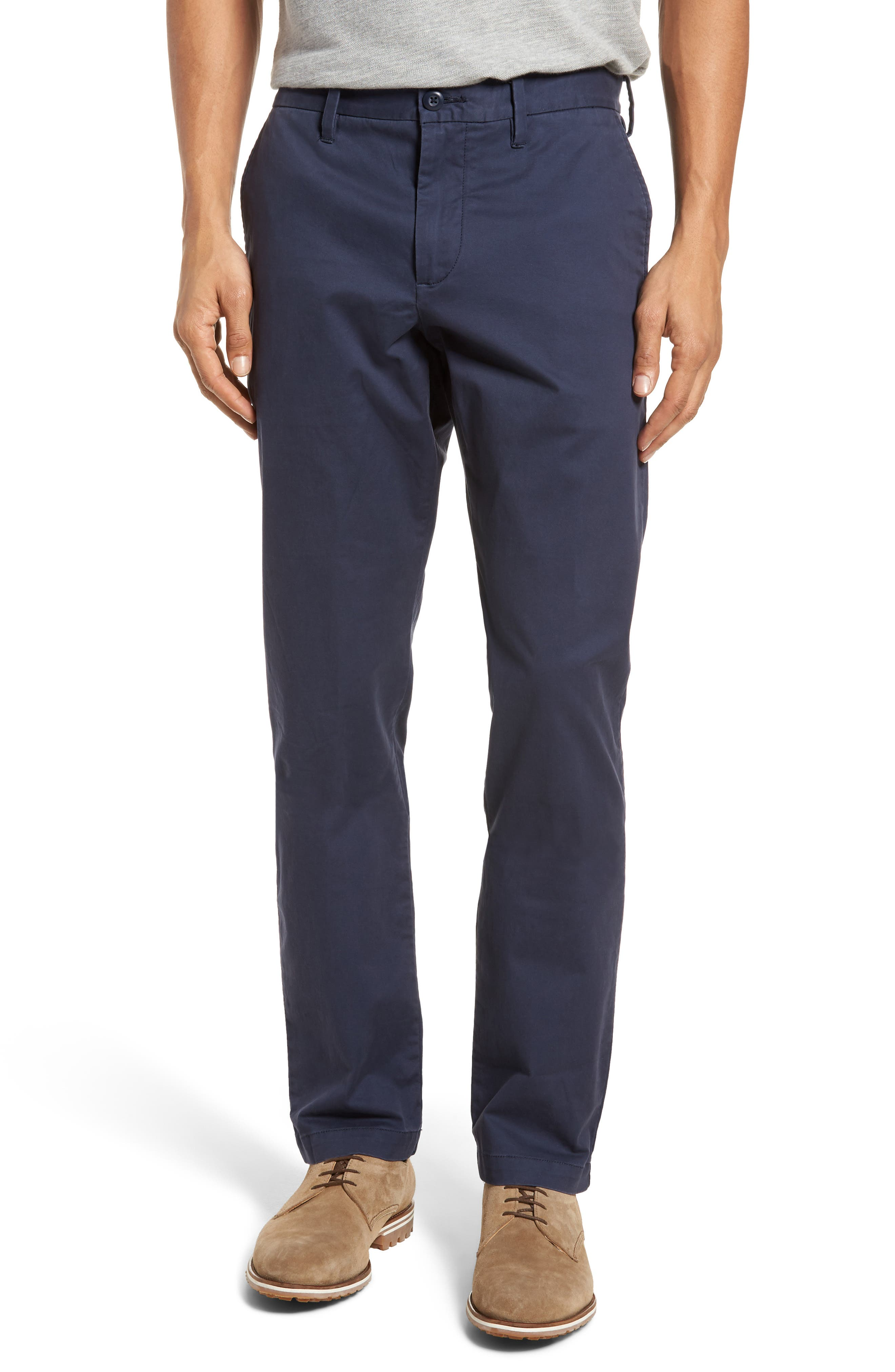 Main Image - 1901 Ballard Slim Fit Stretch Chino Pants