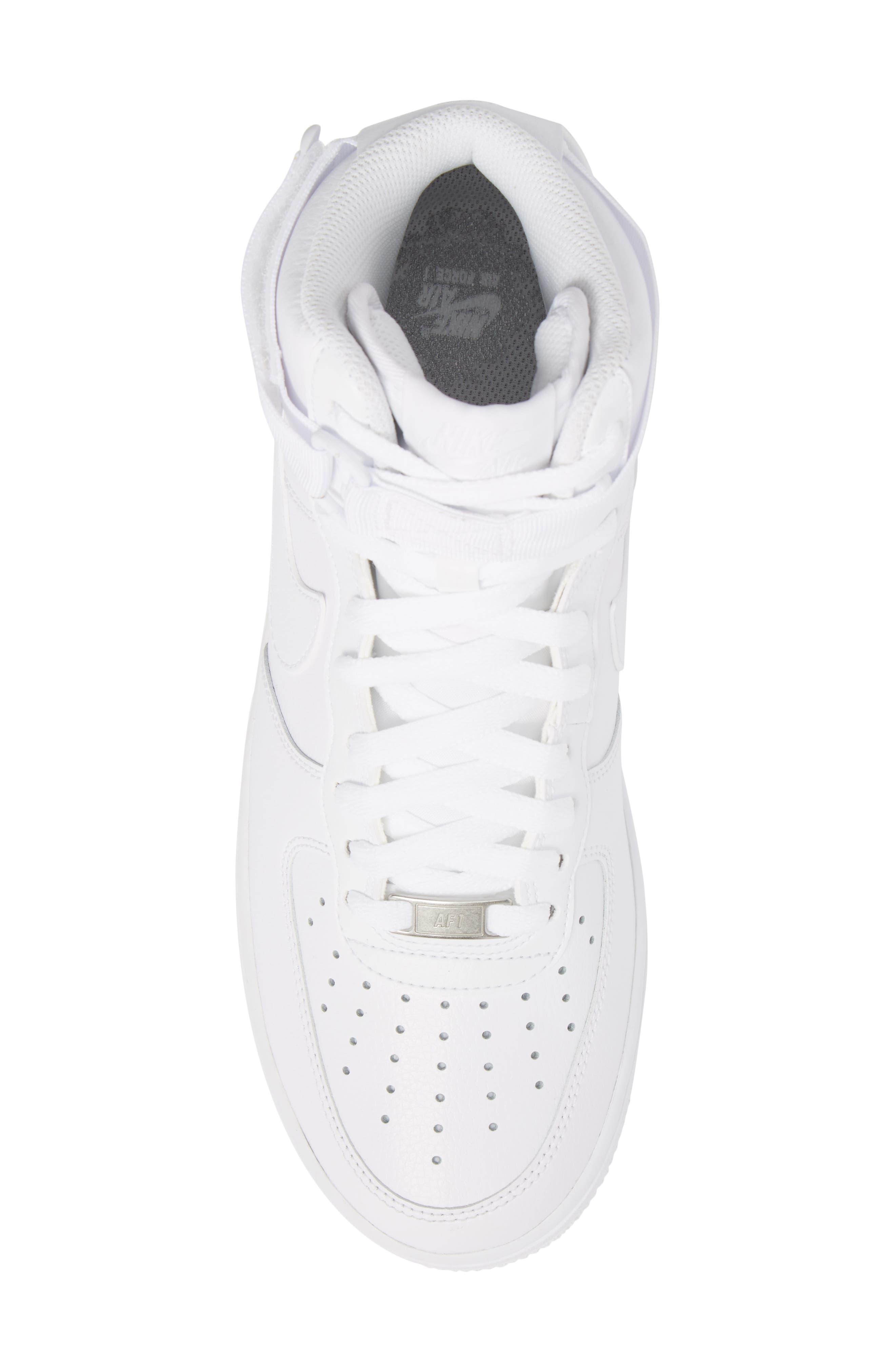 Alternate Image 5  - Nike Air Force 1 High '07 Sneaker (Men)