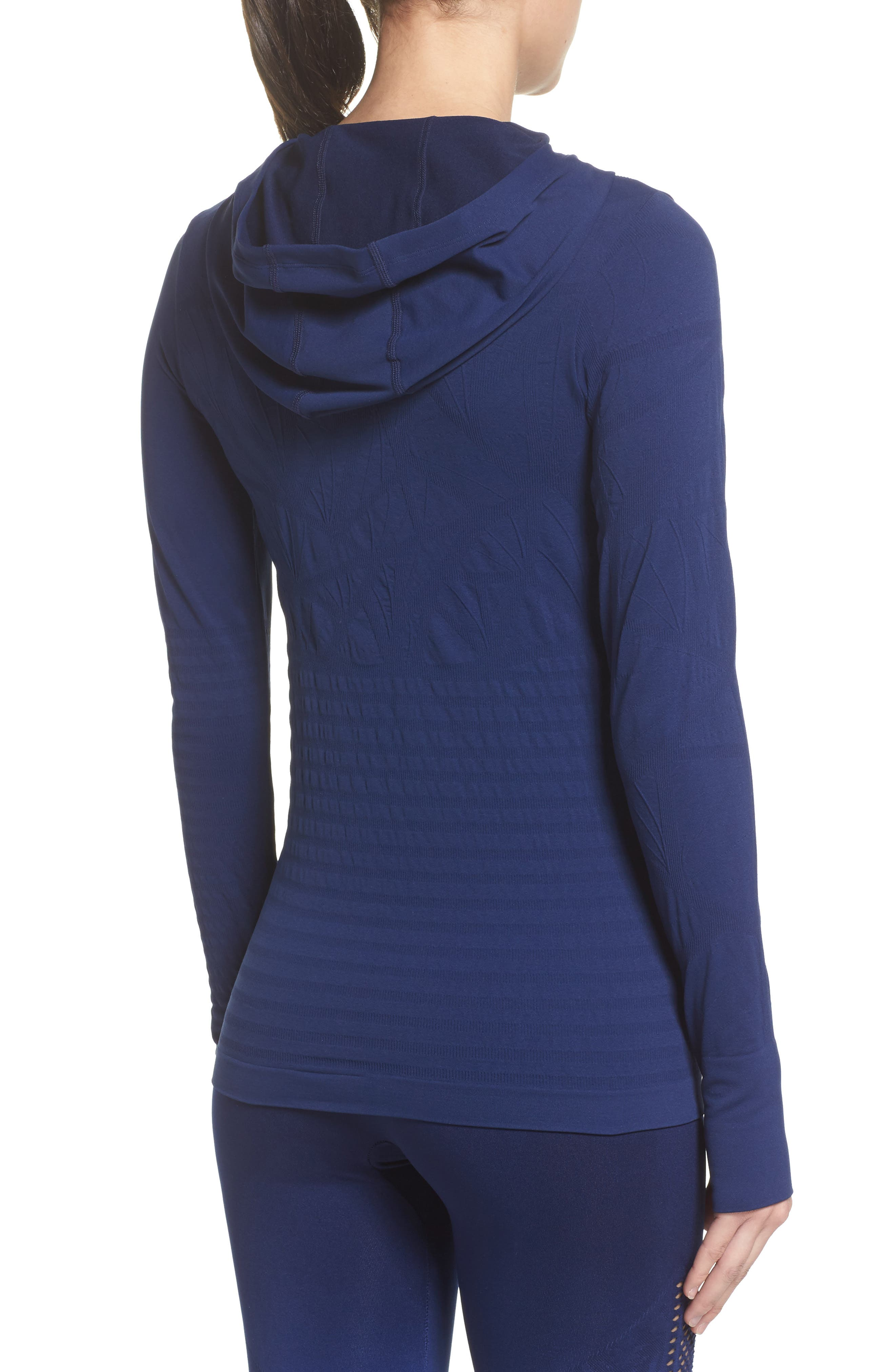 No Boundary Hoodie,                             Alternate thumbnail 2, color,                             Medieval Blue