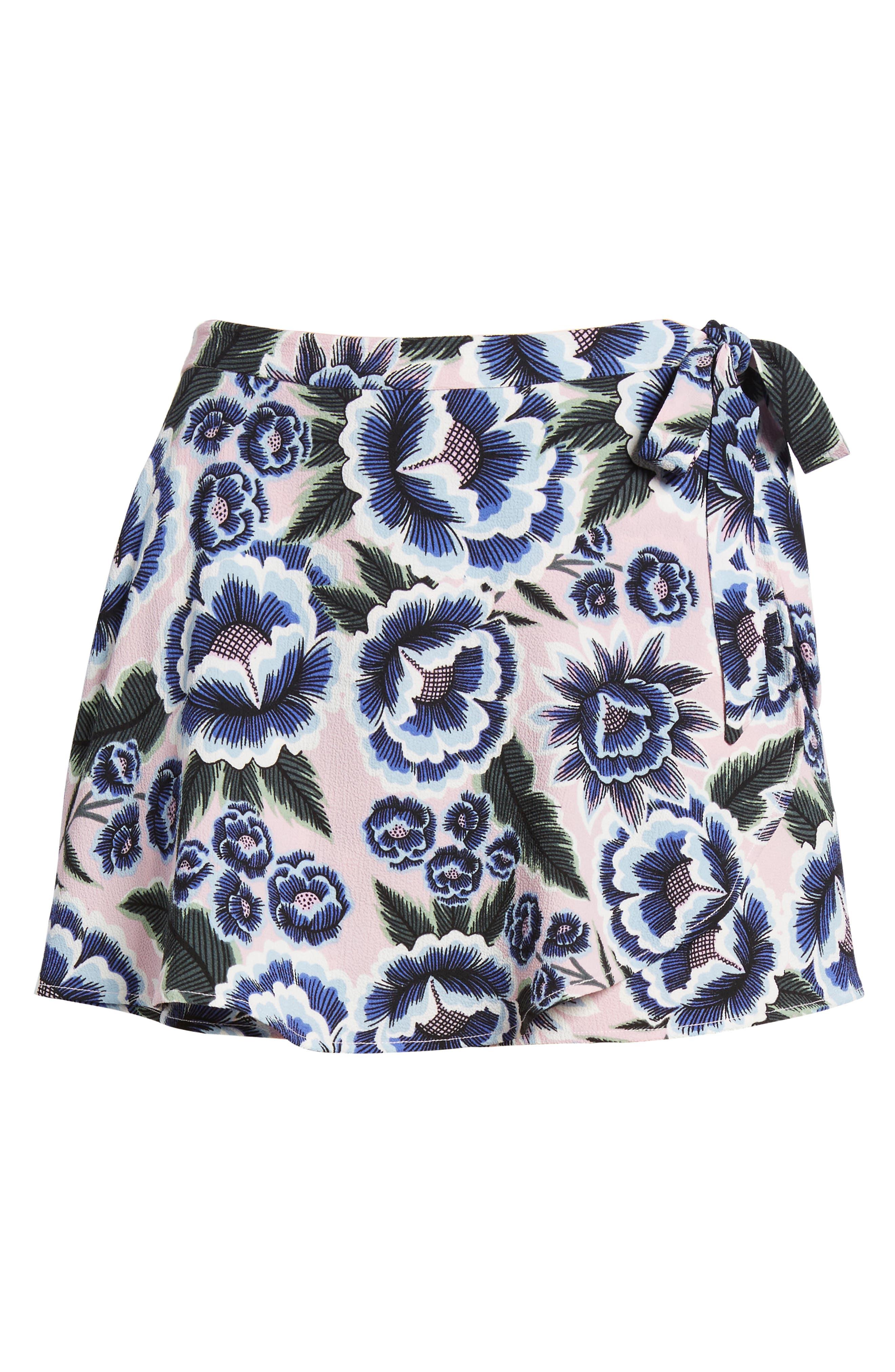The Great Wrap Shorts,                             Alternate thumbnail 6, color,                             Baja Bloom