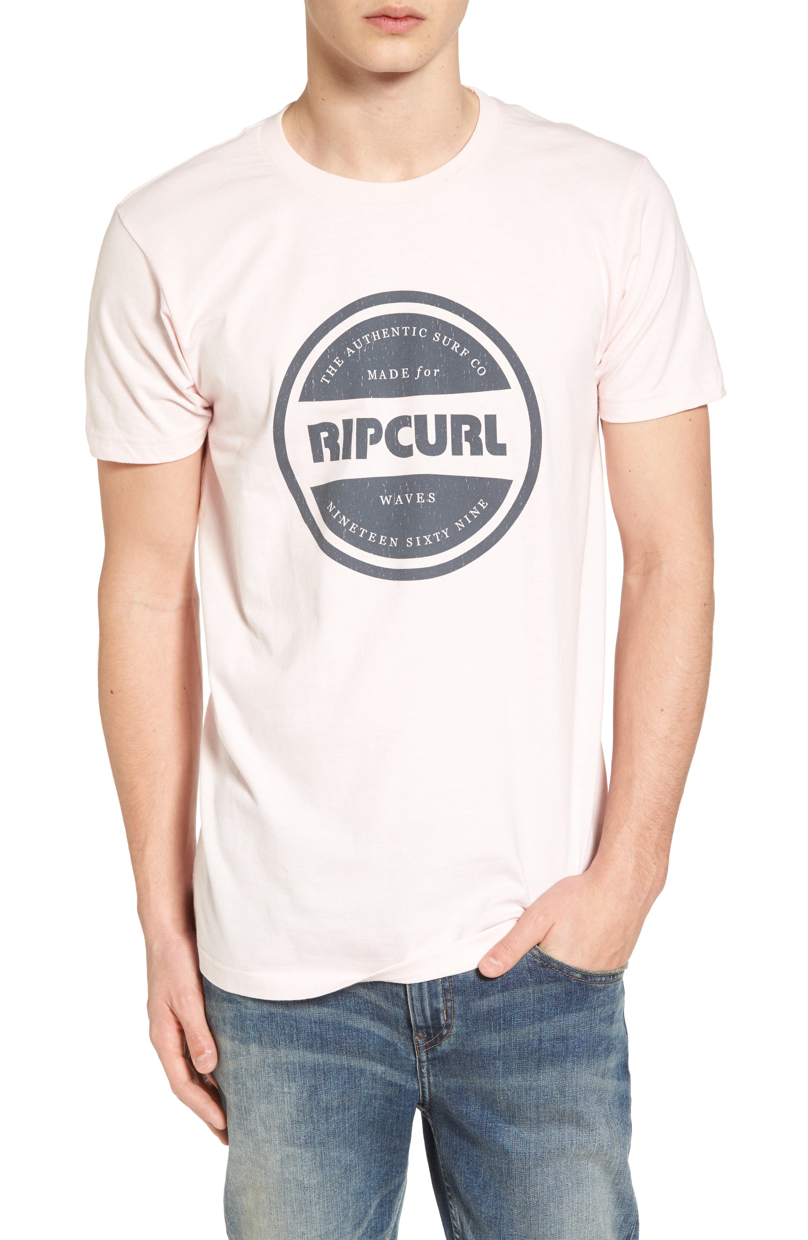 Authentic T-Shirt,                             Main thumbnail 1, color,                             Purple