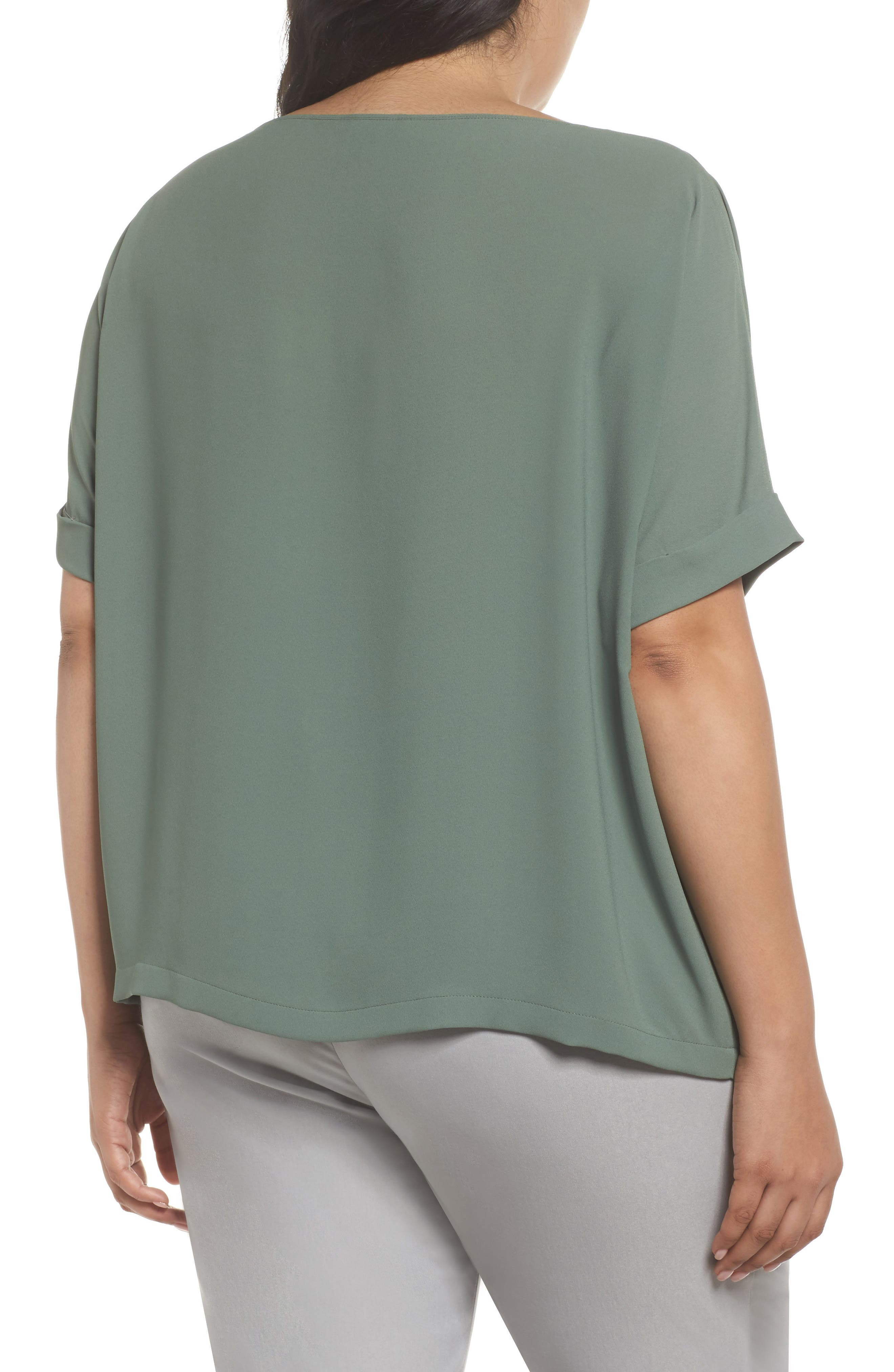 Moroccan Tee,                             Alternate thumbnail 2, color,                             Spring Moss