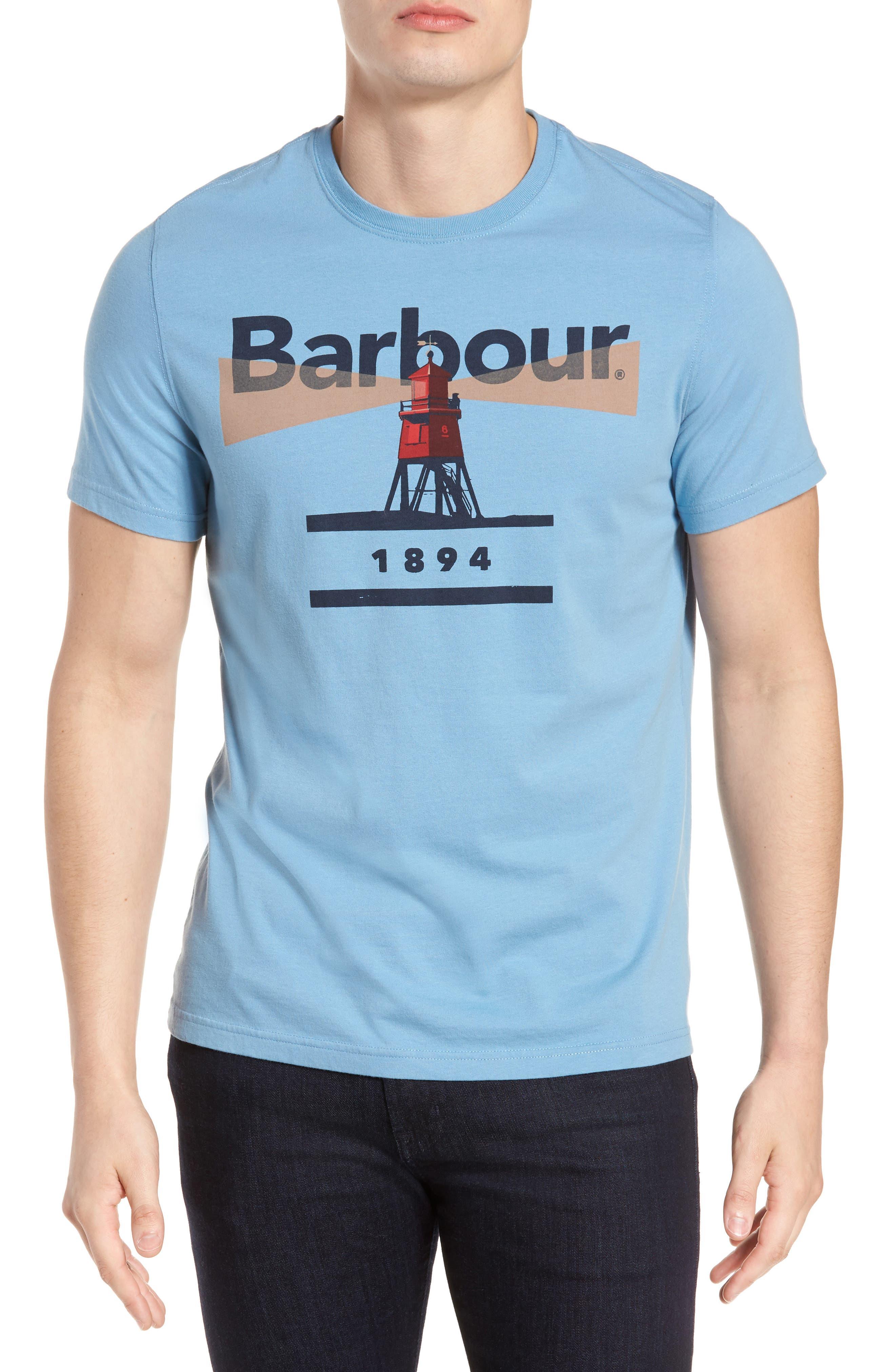 Beacon 94 Crewneck T-Shirt,                         Main,                         color, Blue