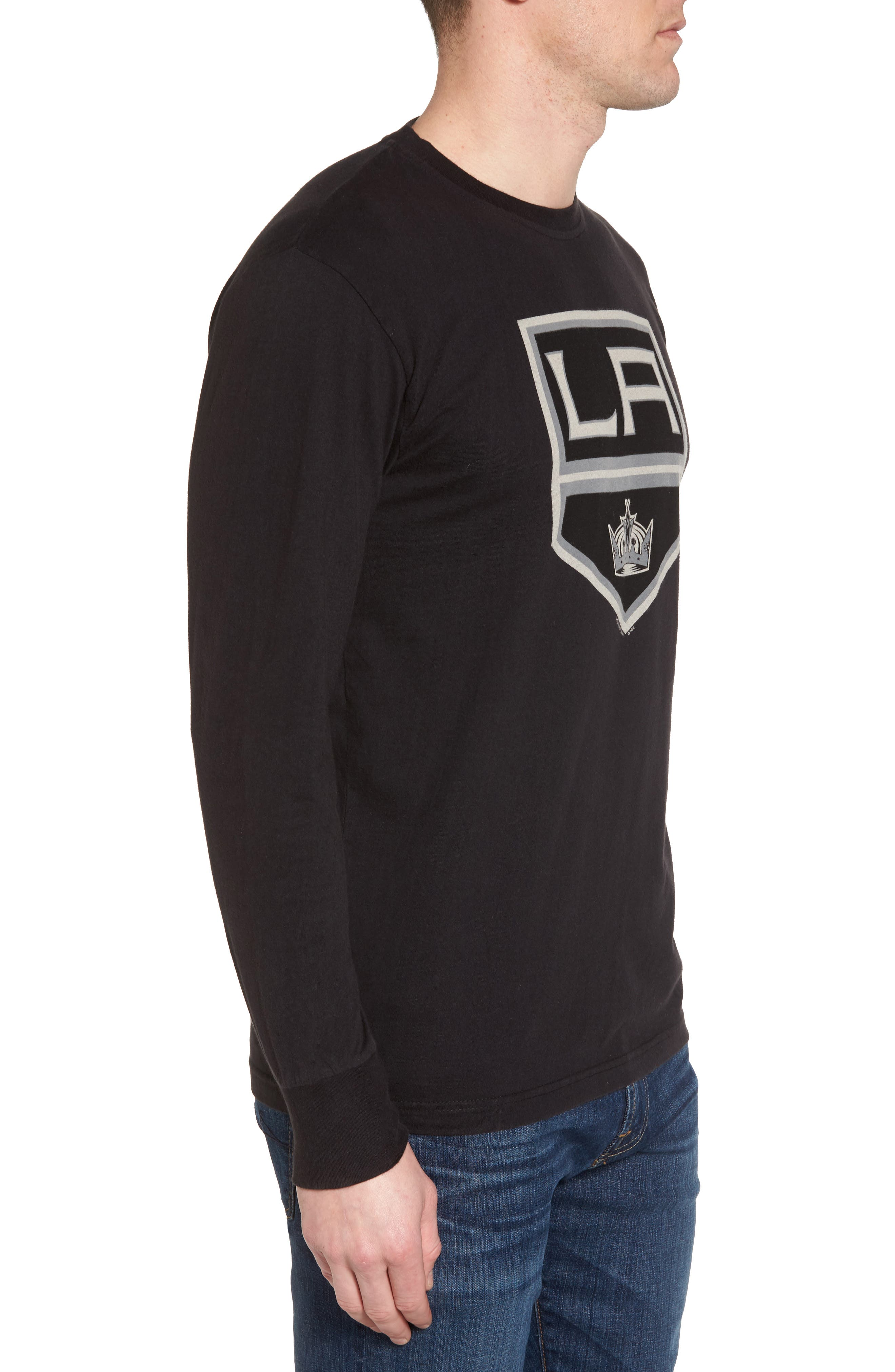 Gresham LA Kings T-Shirt,                             Alternate thumbnail 3, color,                             Black