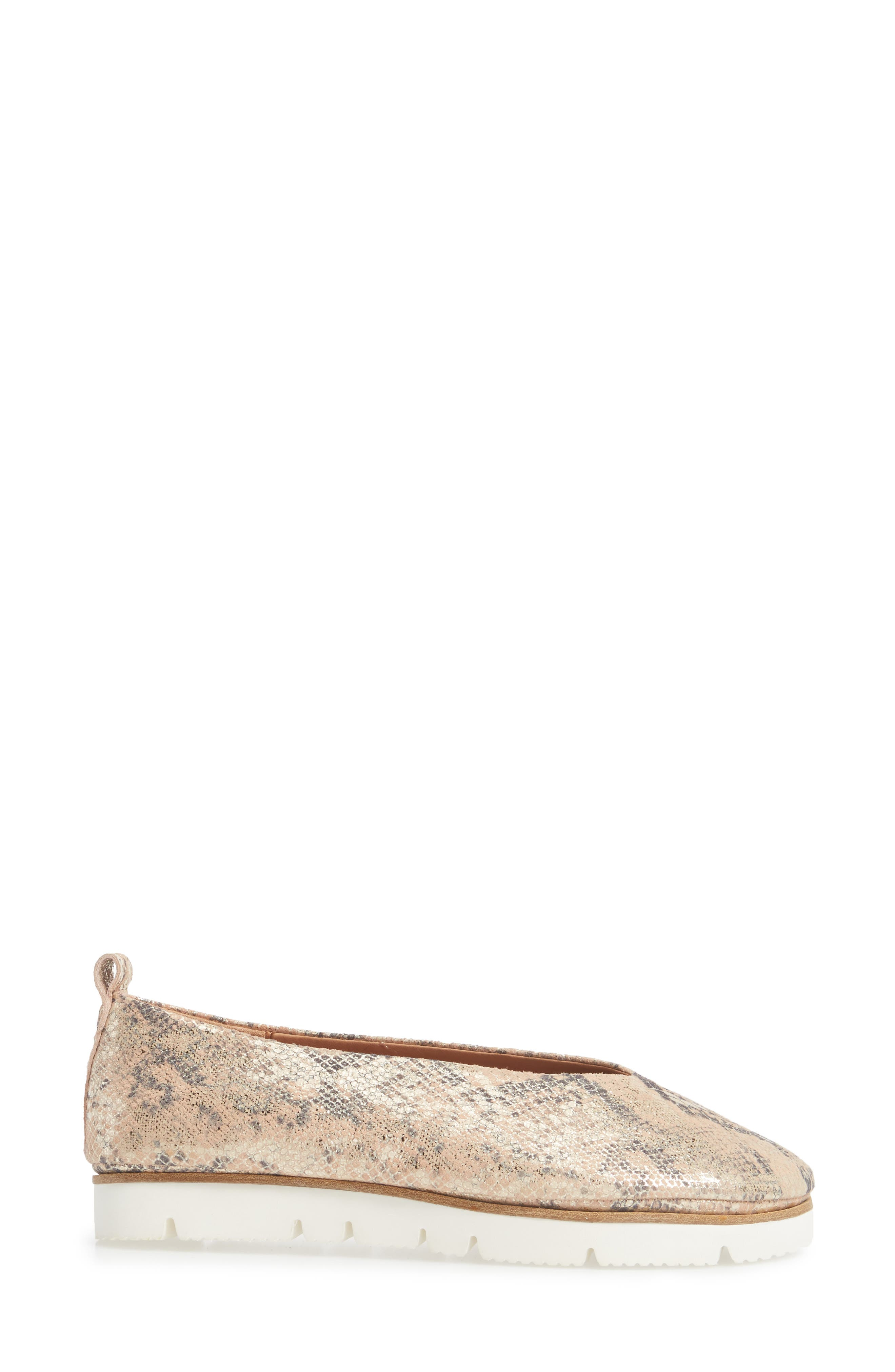 by Kenneth Cole Demi Flat,                             Alternate thumbnail 3, color,                             Rose Metallic Leather
