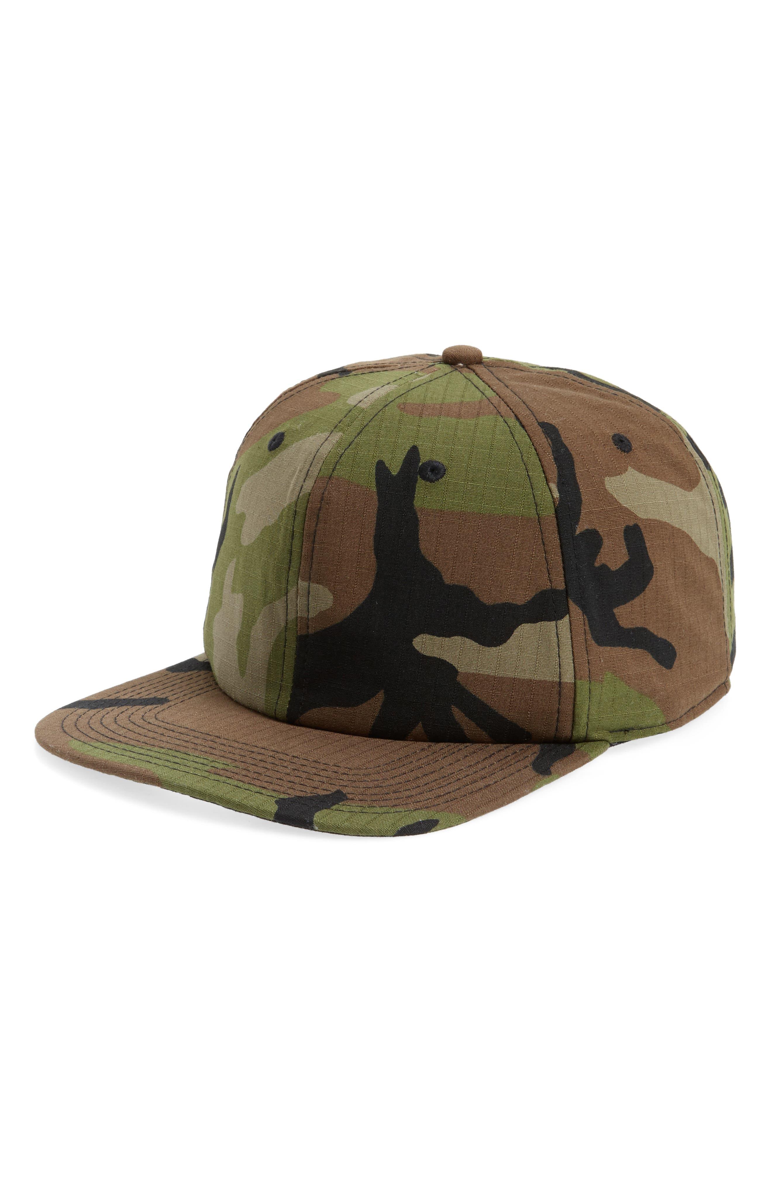 Nike Camo Snapback Cap