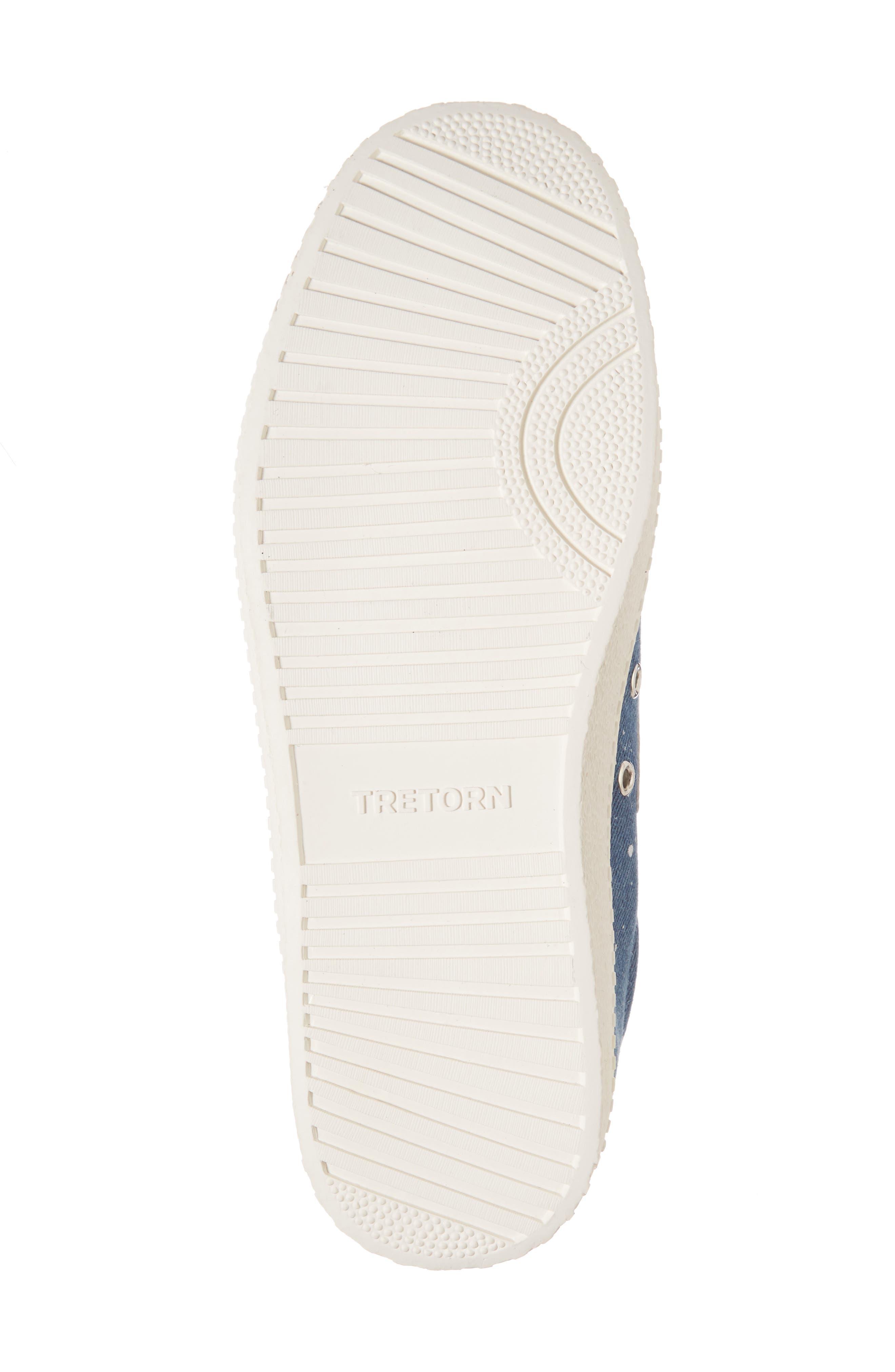 Nylite Plus Sneaker,                             Alternate thumbnail 6, color,                             Blue Fabric