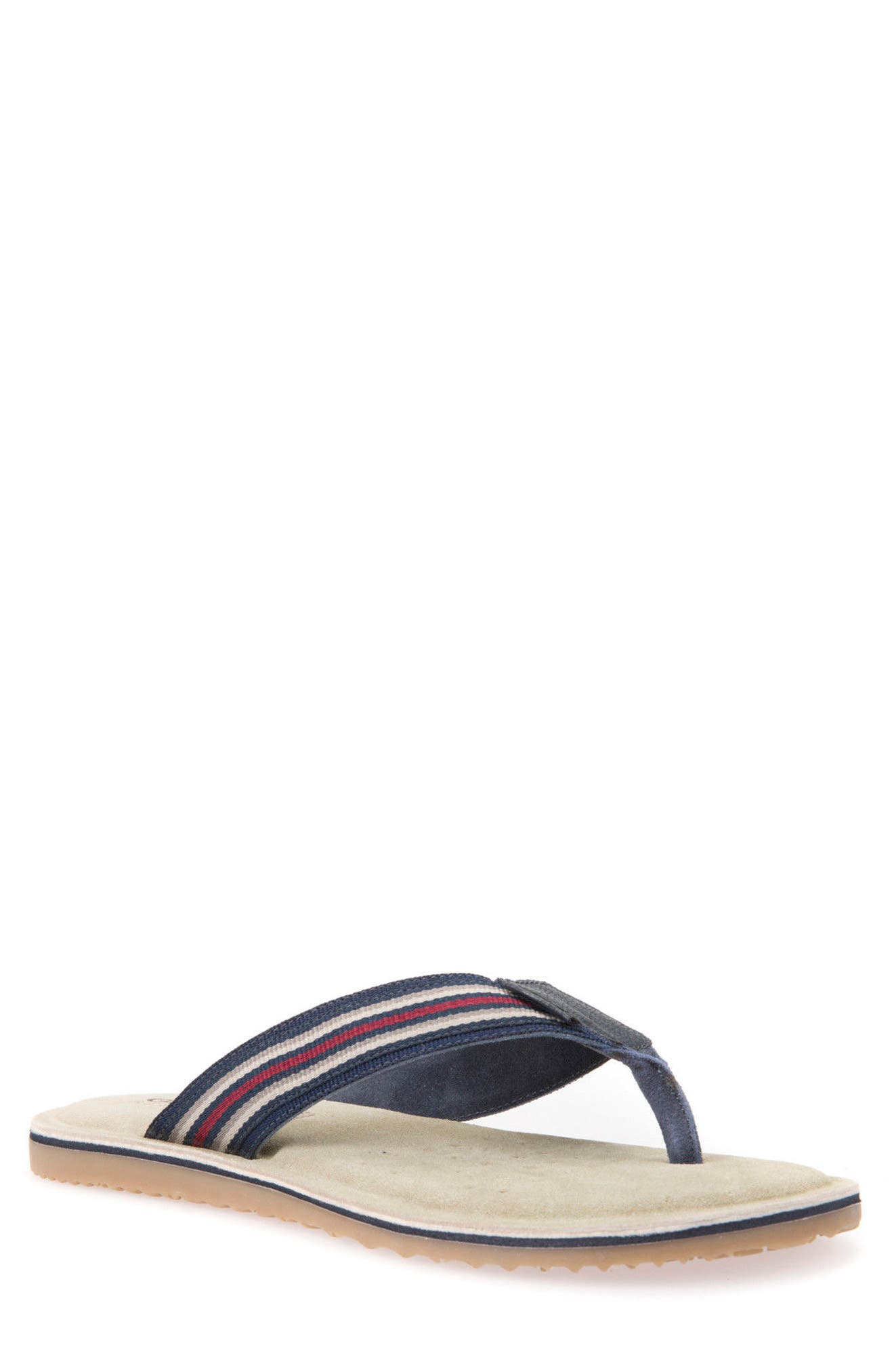 Artie 13 Flip Flop,                         Main,                         color, Navy
