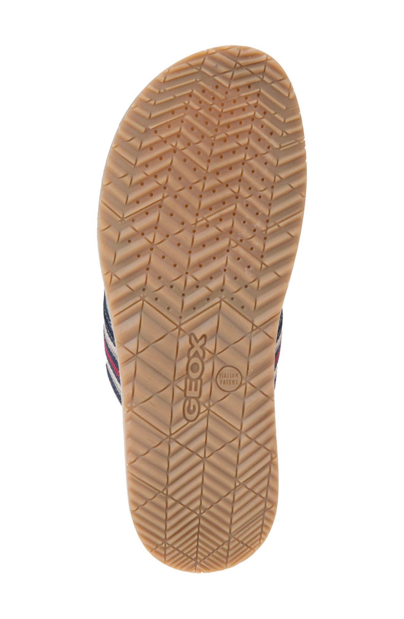 Artie 14 Cross Strap Slide Sandal,                             Alternate thumbnail 6, color,                             Navy