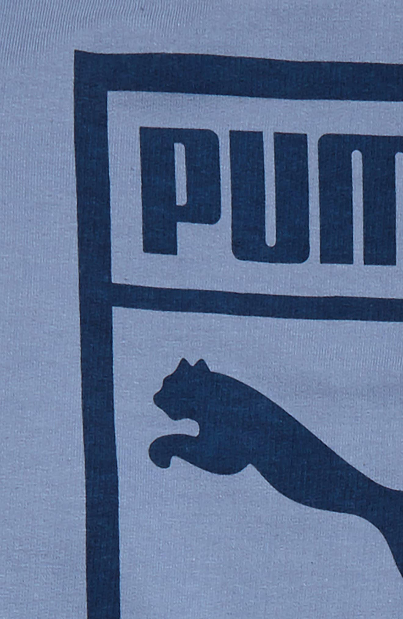Alternate Image 2  - PUMA Heritage Sweatshirt & Sweatpants Set (Toddler Boys & Little Boys)