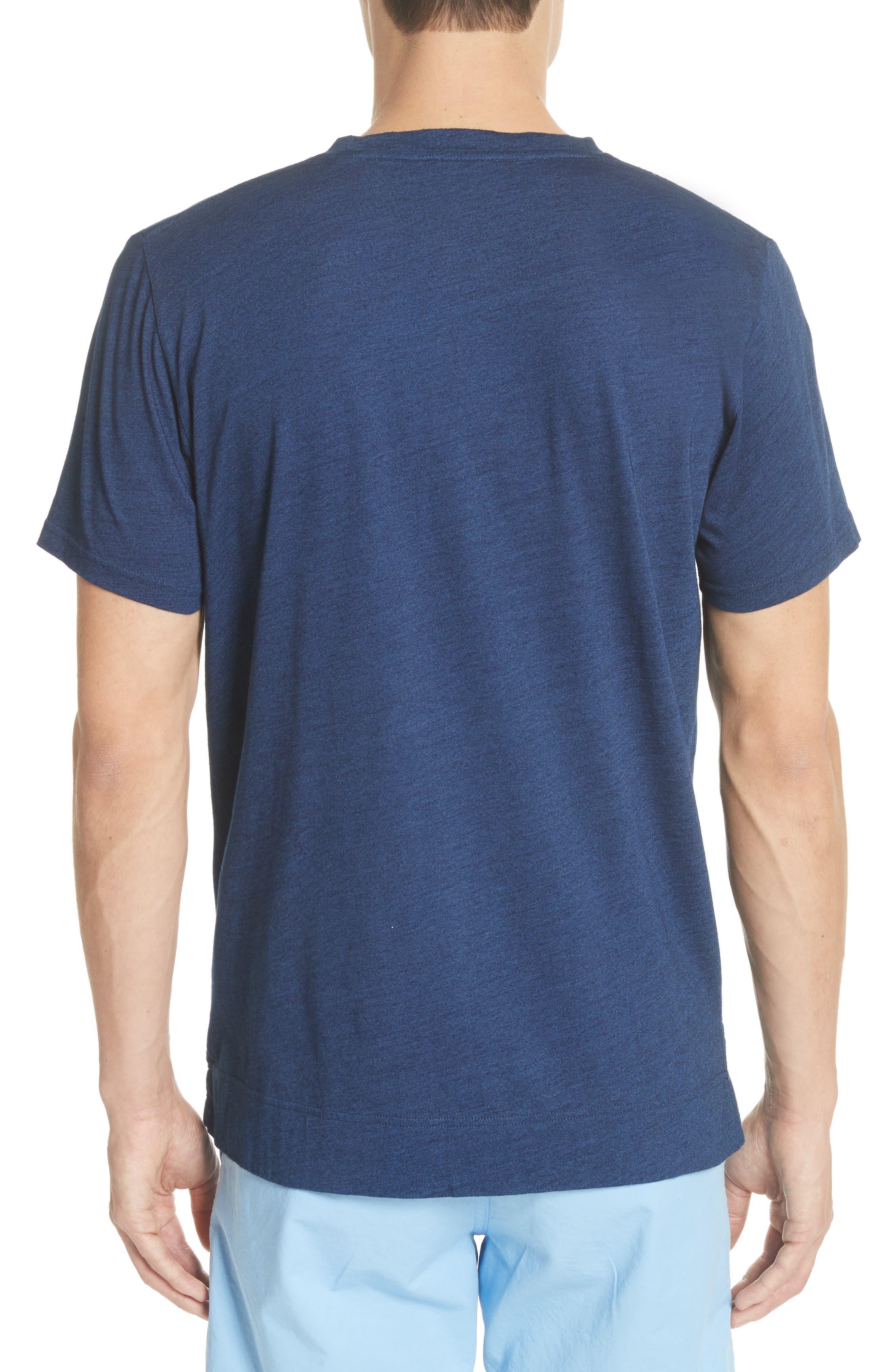 Niels Indigo T-Shirt,                             Alternate thumbnail 2, color,                             Indigo