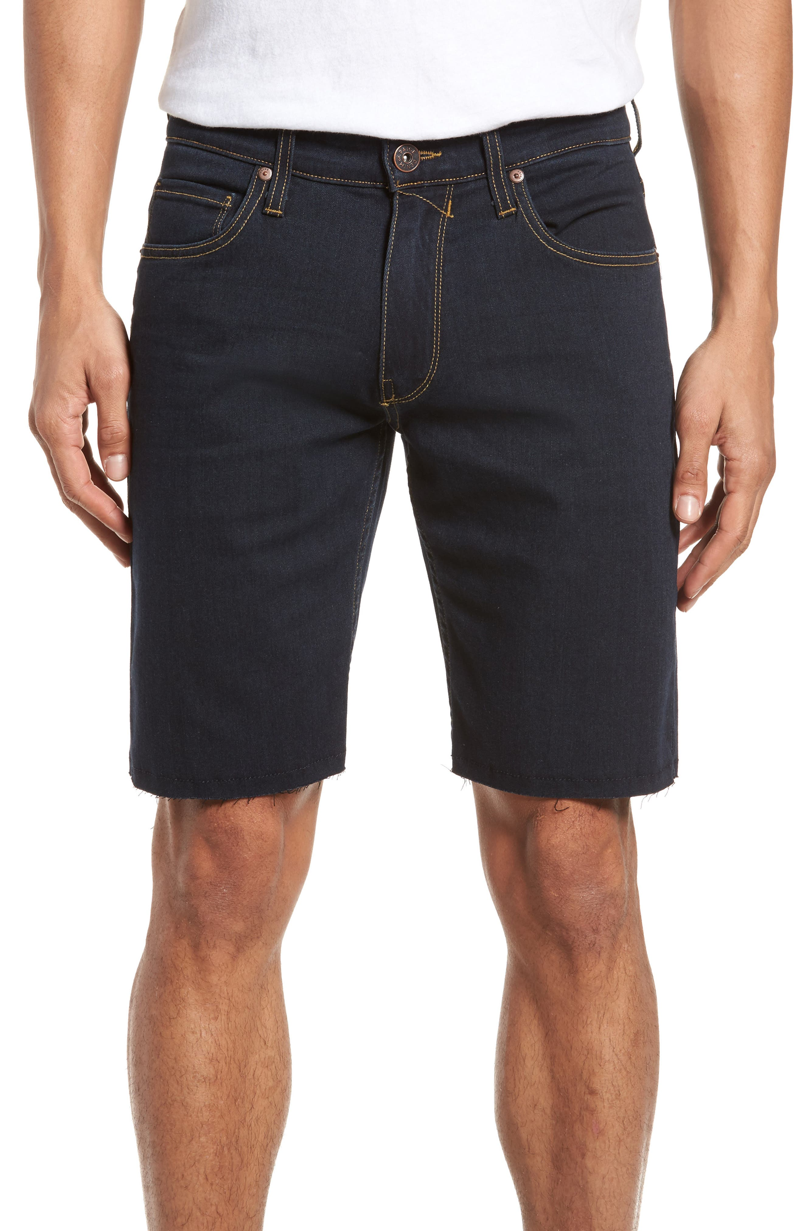 Transcend - Federal Slim Straight Leg Denim Shorts,                         Main,                         color, Ames