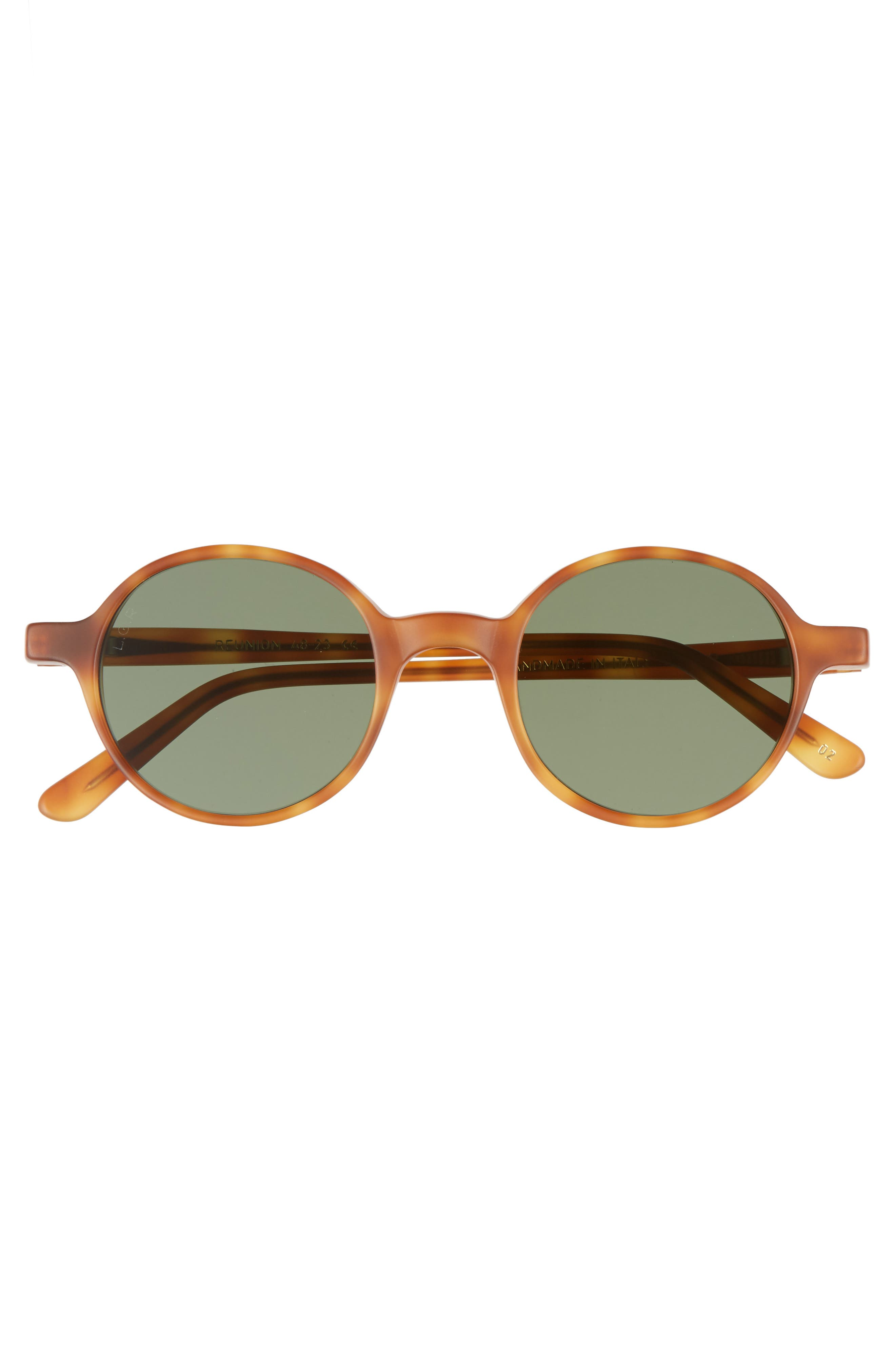 Reunion 48mm Sunglasses,                             Alternate thumbnail 2, color,                             Havana Chiaro
