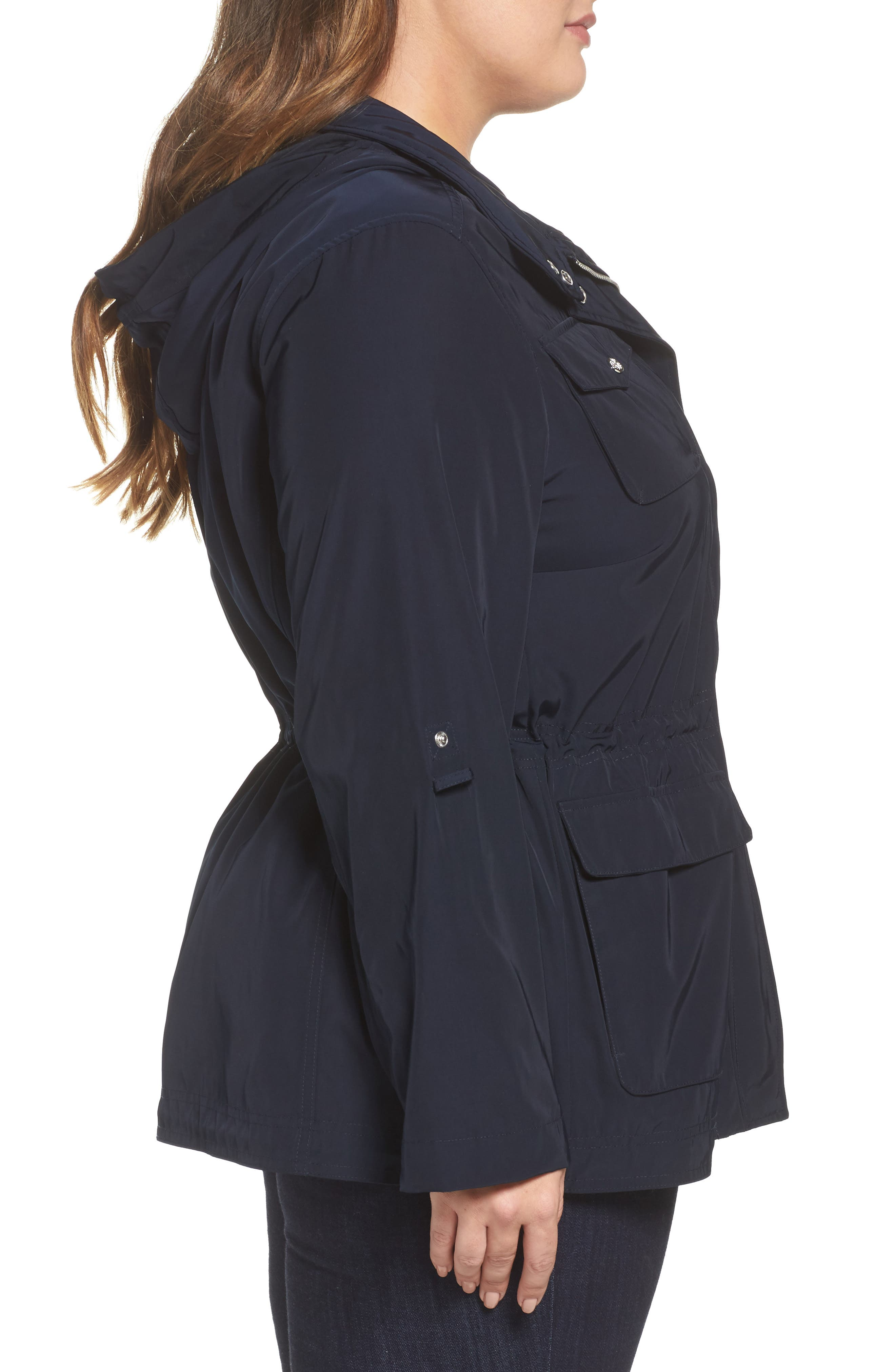 Americana Parka,                             Alternate thumbnail 3, color,                             Navy
