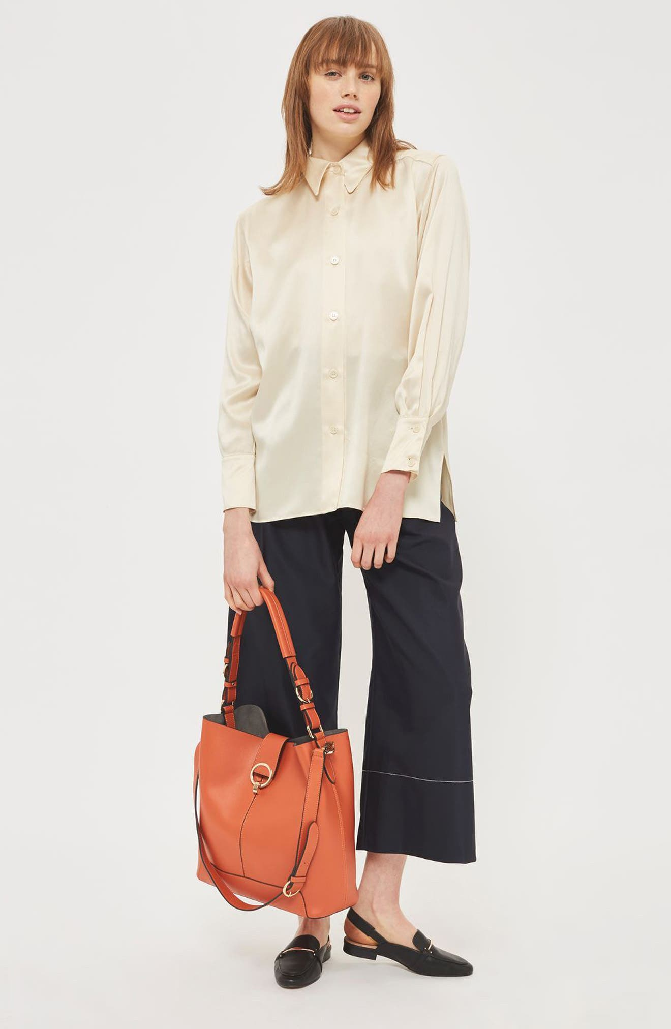 Alternate Image 2  - Topshop Harper Faux Leather Hobo
