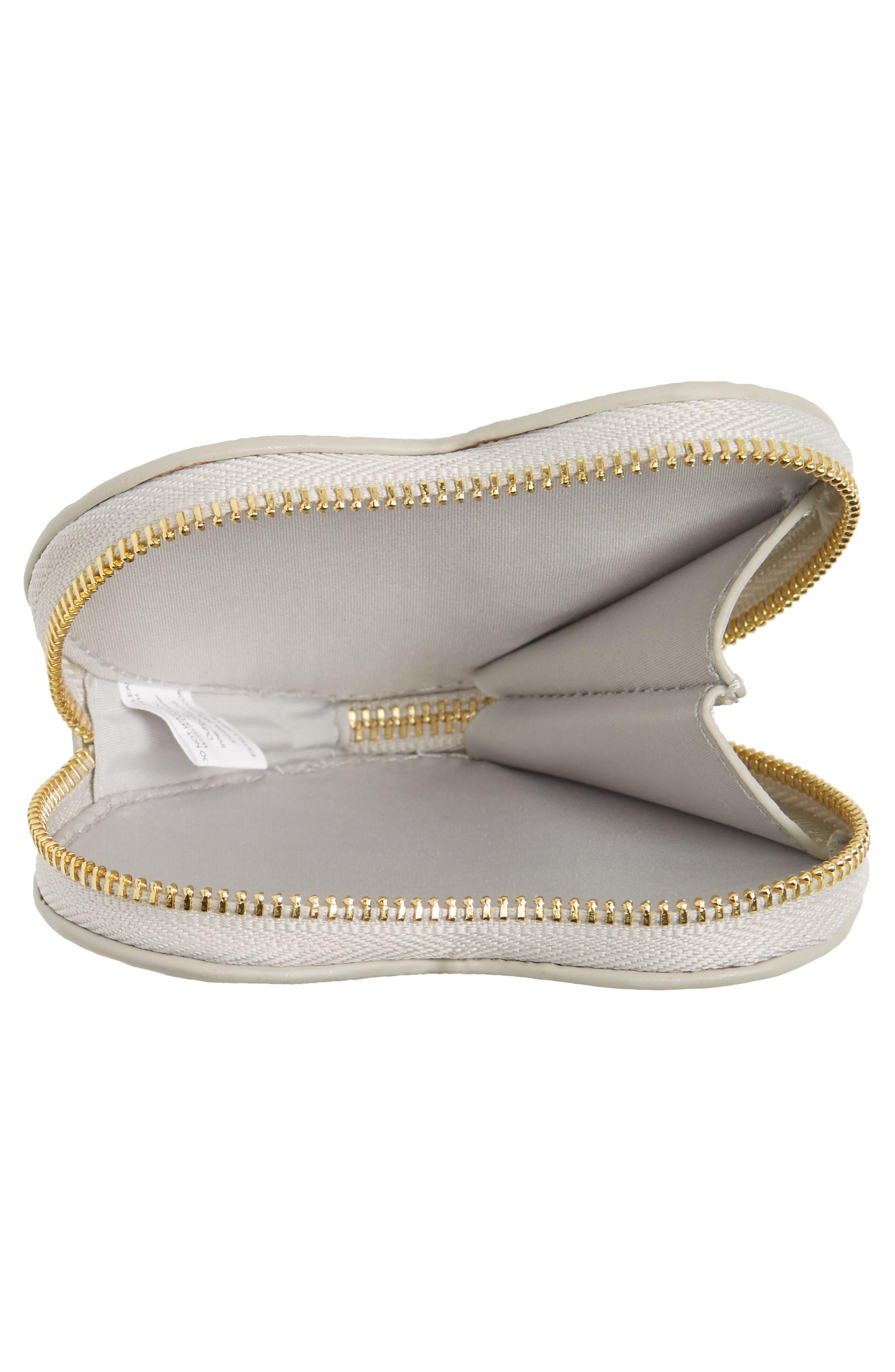 Alternate Image 4  - Estella Bartlett Heart Dream Faux Leather Coin Purse