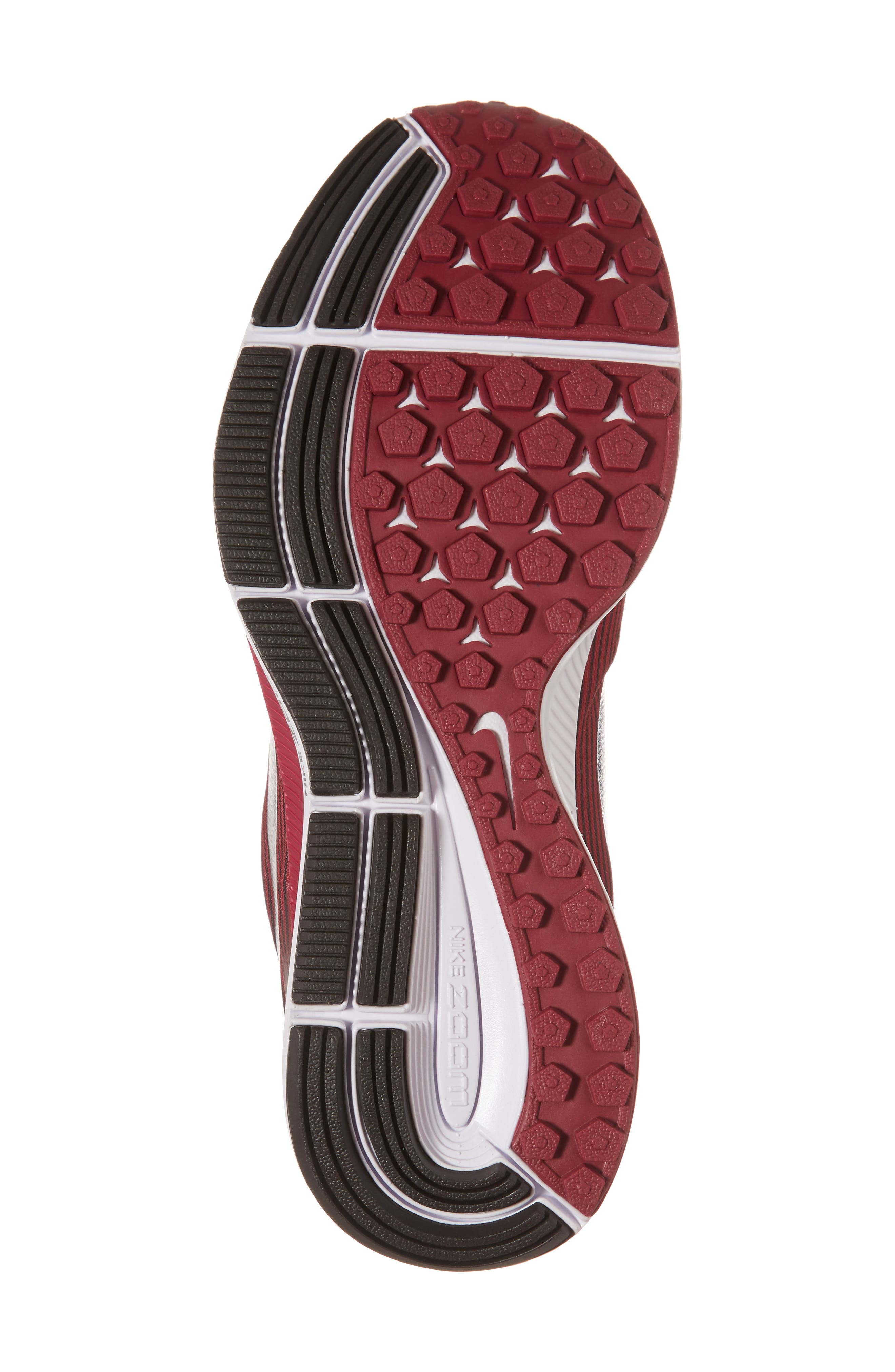 Air Zoom Pegasus 34 Gem Running Shoe,                             Alternate thumbnail 6, color,                             Shadow Brown/ Pewter