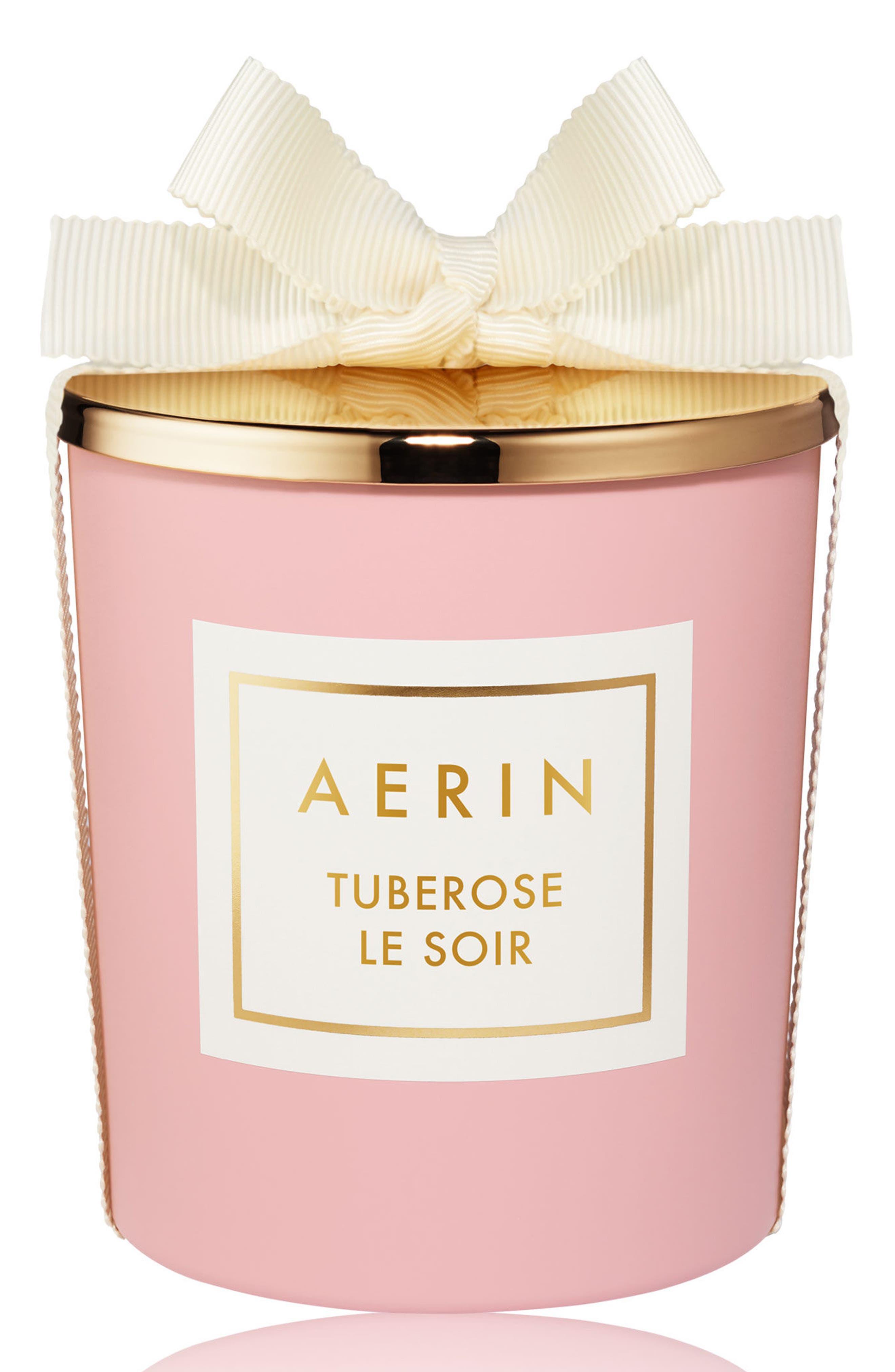AERIN Beauty Tuberose Le Soir Candle,                             Main thumbnail 1, color,                             No Color