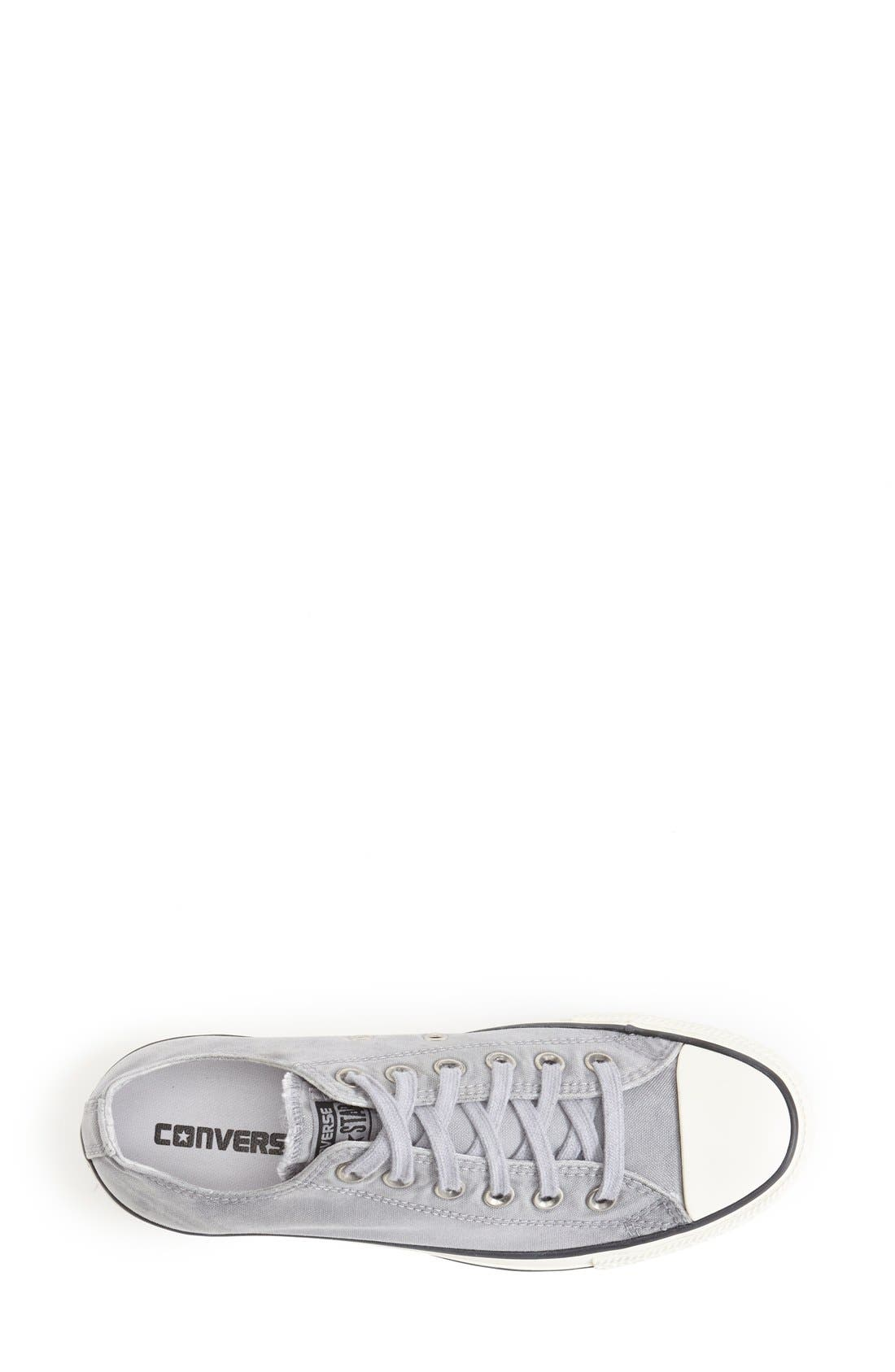 Alternate Image 3  - Converse Chuck Taylor® All Star® 'White Wash Ox' Sneaker (Women)