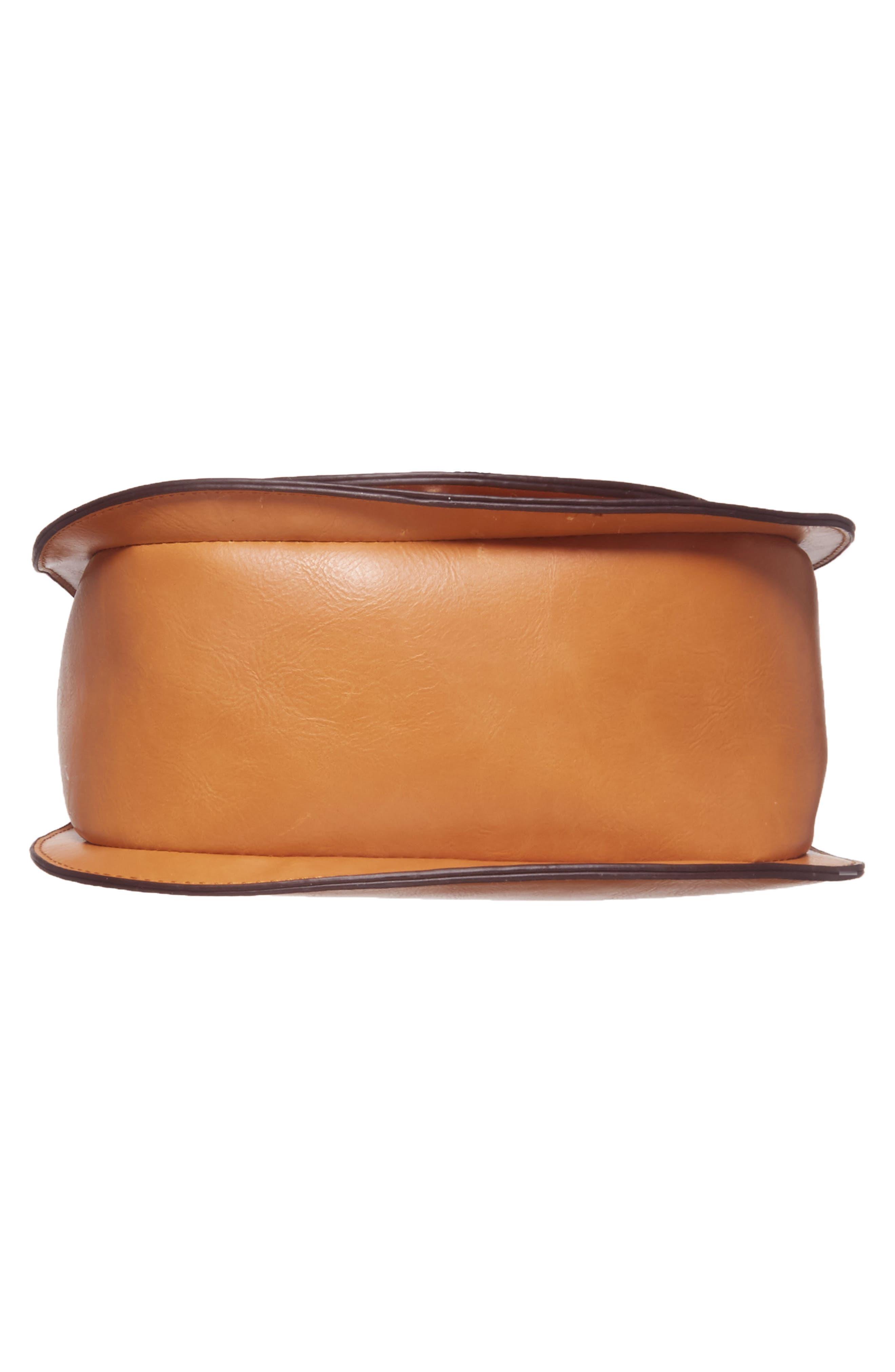 Alternate Image 6  - Sole Society Bryson Faux Leather Crossbody Bag
