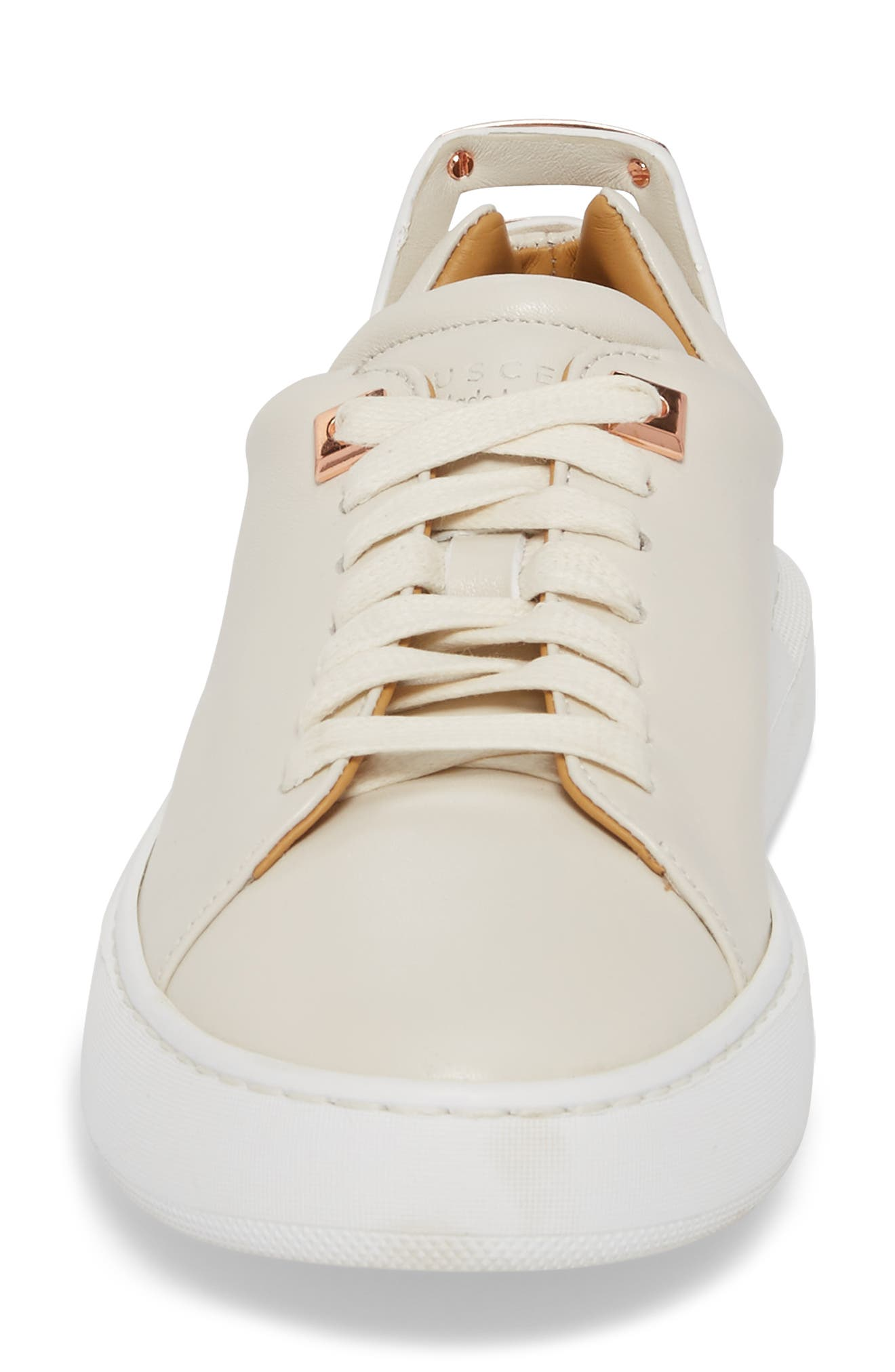 Uno Low Top Sneaker,                             Alternate thumbnail 4, color,                             Off White