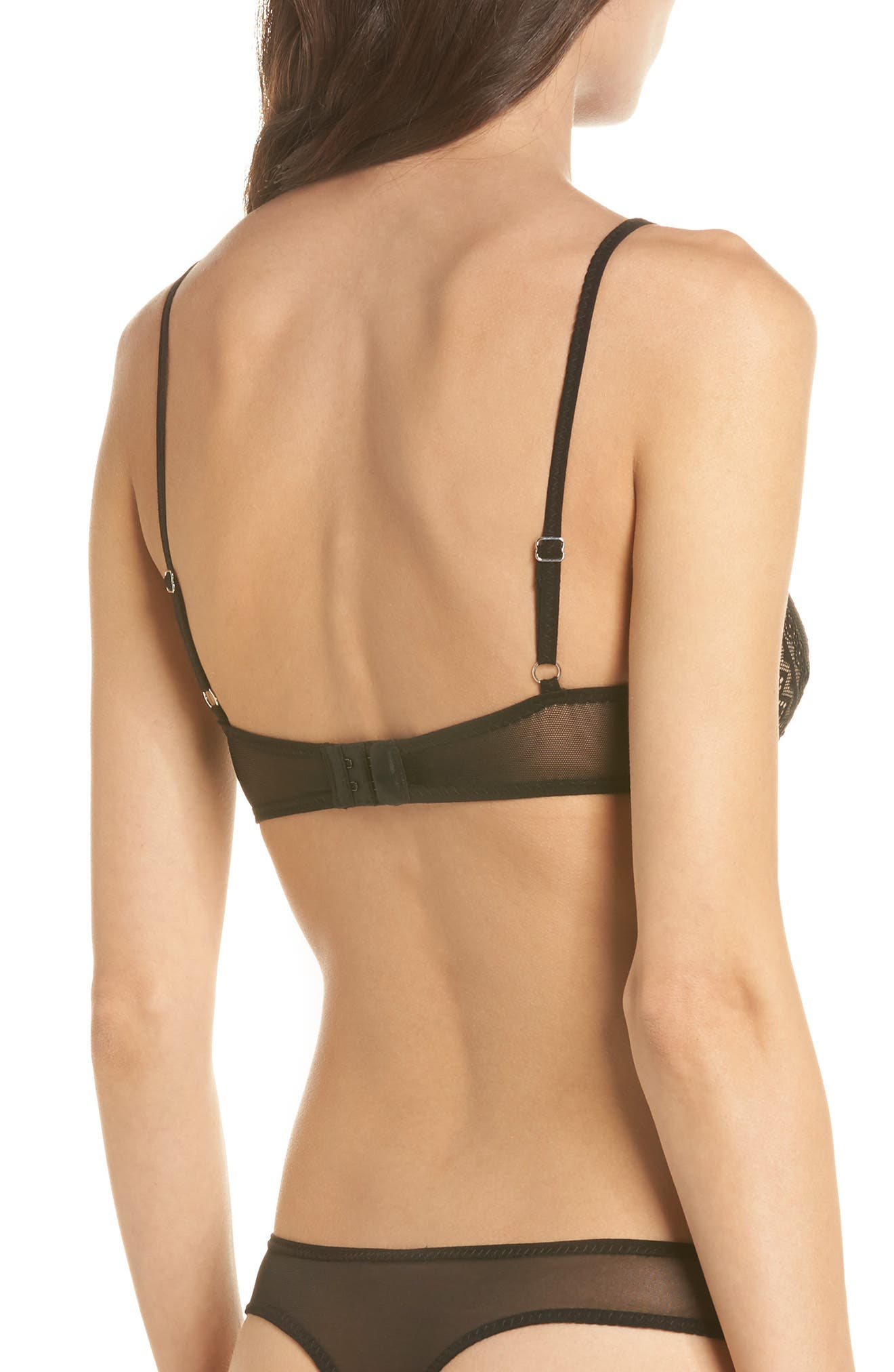 Thistle & Spire Bond Bralette,                             Alternate thumbnail 2, color,                             Black